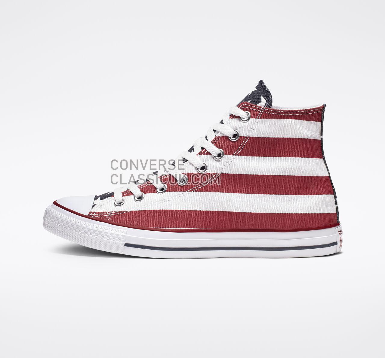 Converse Chuck Taylor All Star Americana High Top Mens Womens Unisex M8437 Stars  Bars Shoes