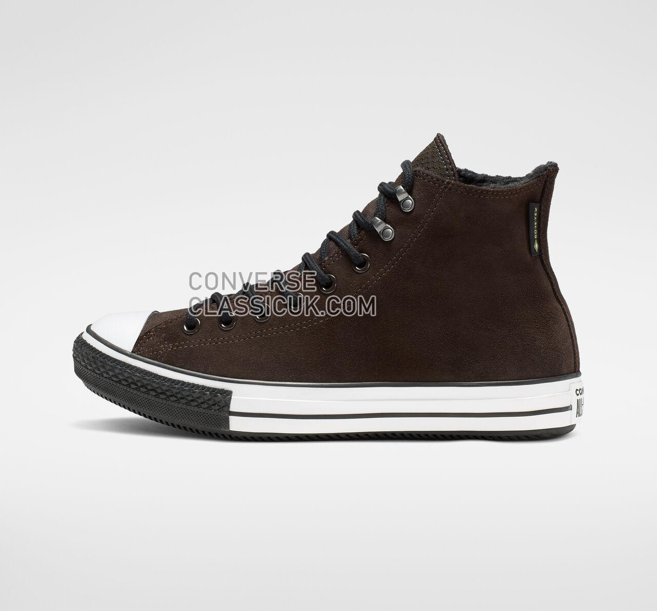 Converse Chuck Taylor All Star Winter Waterproof High Top Mens Womens Unisex 165452C Velvet Brown/White/Black Shoes