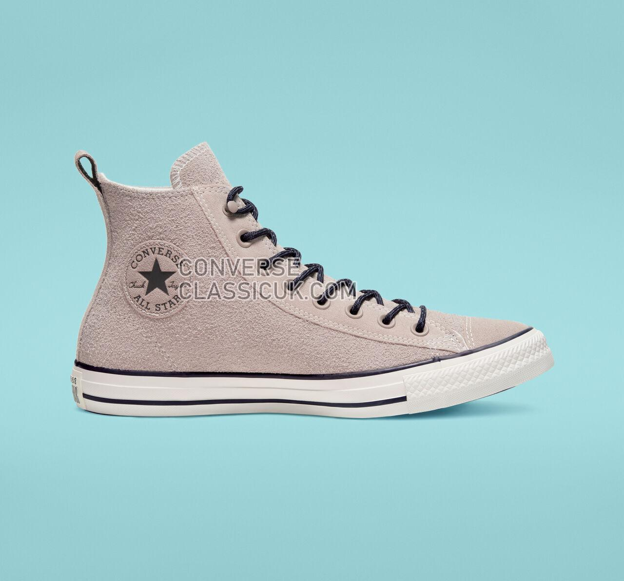 Converse Chuck Taylor All Star Suede High Top Mens Womens Unisex 165843C Hummus/Almost Black/Egret Shoes