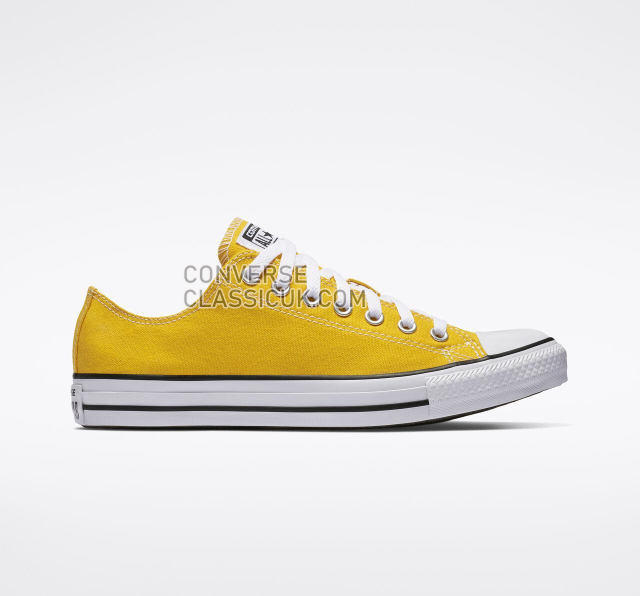 Converse Chuck Taylor All Star Low Top Mens Womens Unisex 130129F Lemon Chrome Shoes