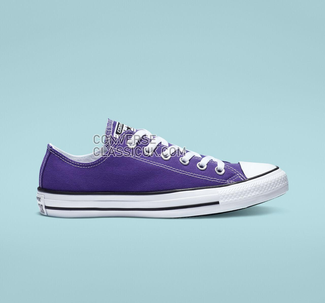 Converse Chuck Taylor All Star Low Top Mens Womens Unisex 137837F Electric Purple Shoes