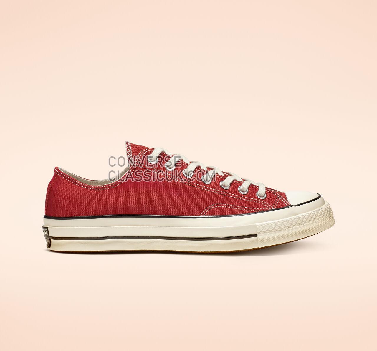 Converse Chuck 70 Low Top Mens Womens Unisex 164949C Enamel Red/Egret/Black Shoes