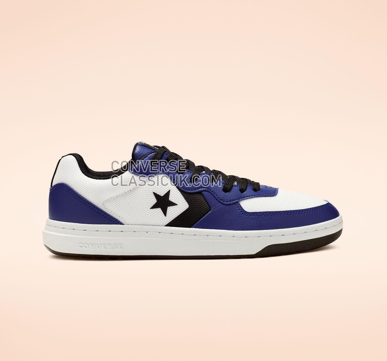 Converse Rival Low Top Mens Womens Unisex 164894C White/Blue/White Shoes
