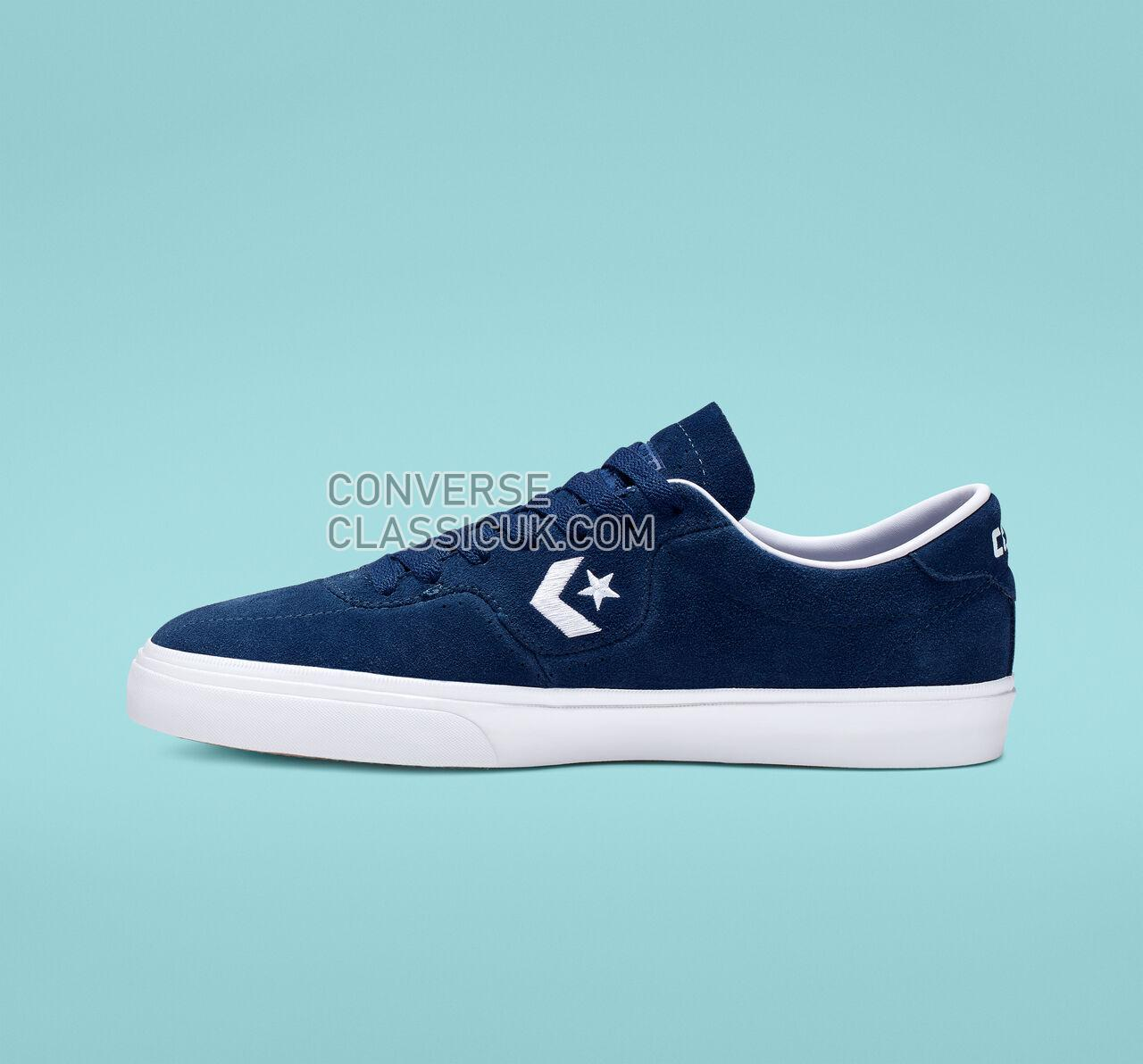 Converse Louie Lopez Pro Low Top Mens Womens Unisex 165273C Navy/White/Gum Shoes