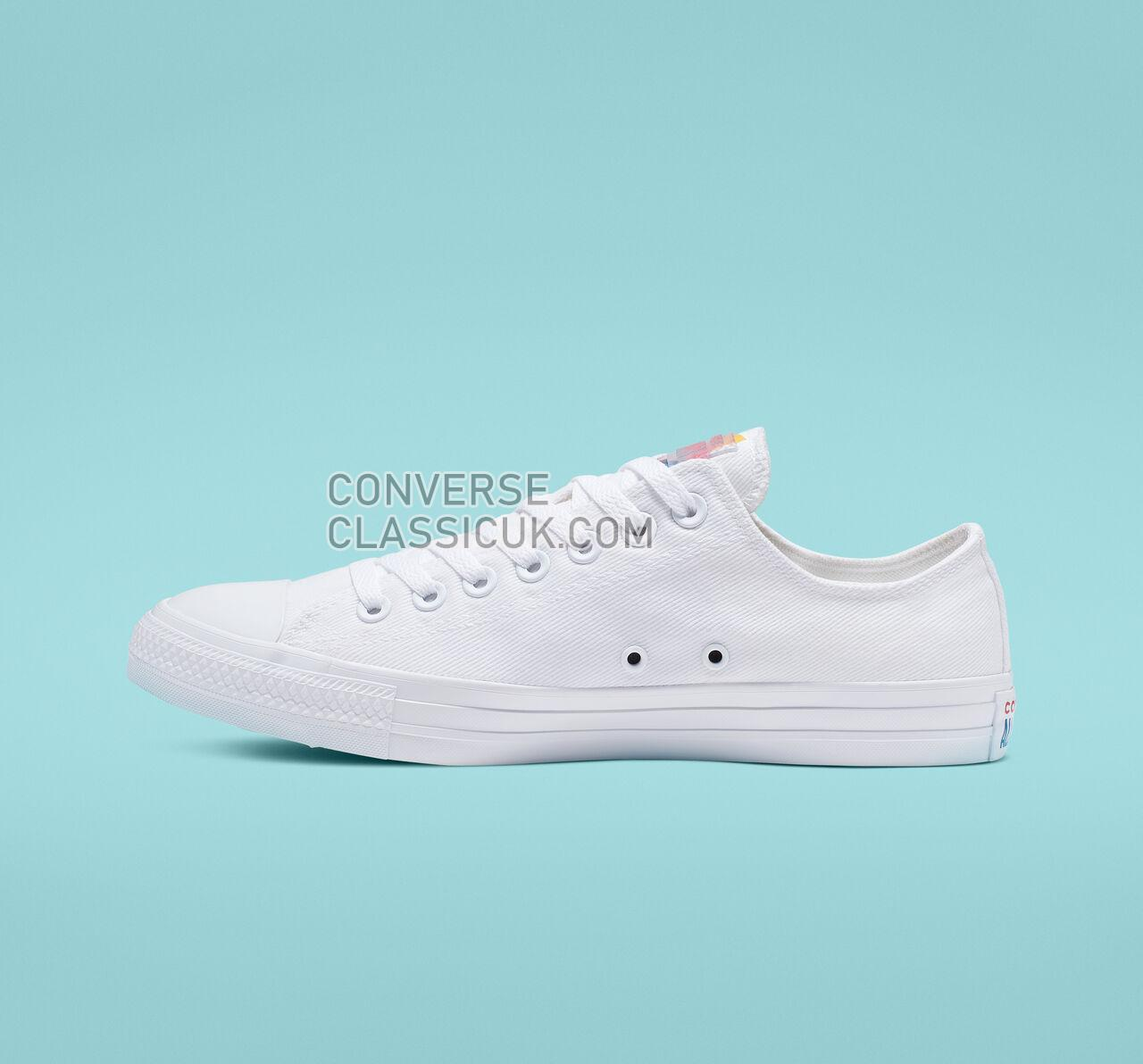 Converse Chuck Taylor All Star Space Racer Low Top Mens Womens Unisex 165330F White/University Gold/White Shoes
