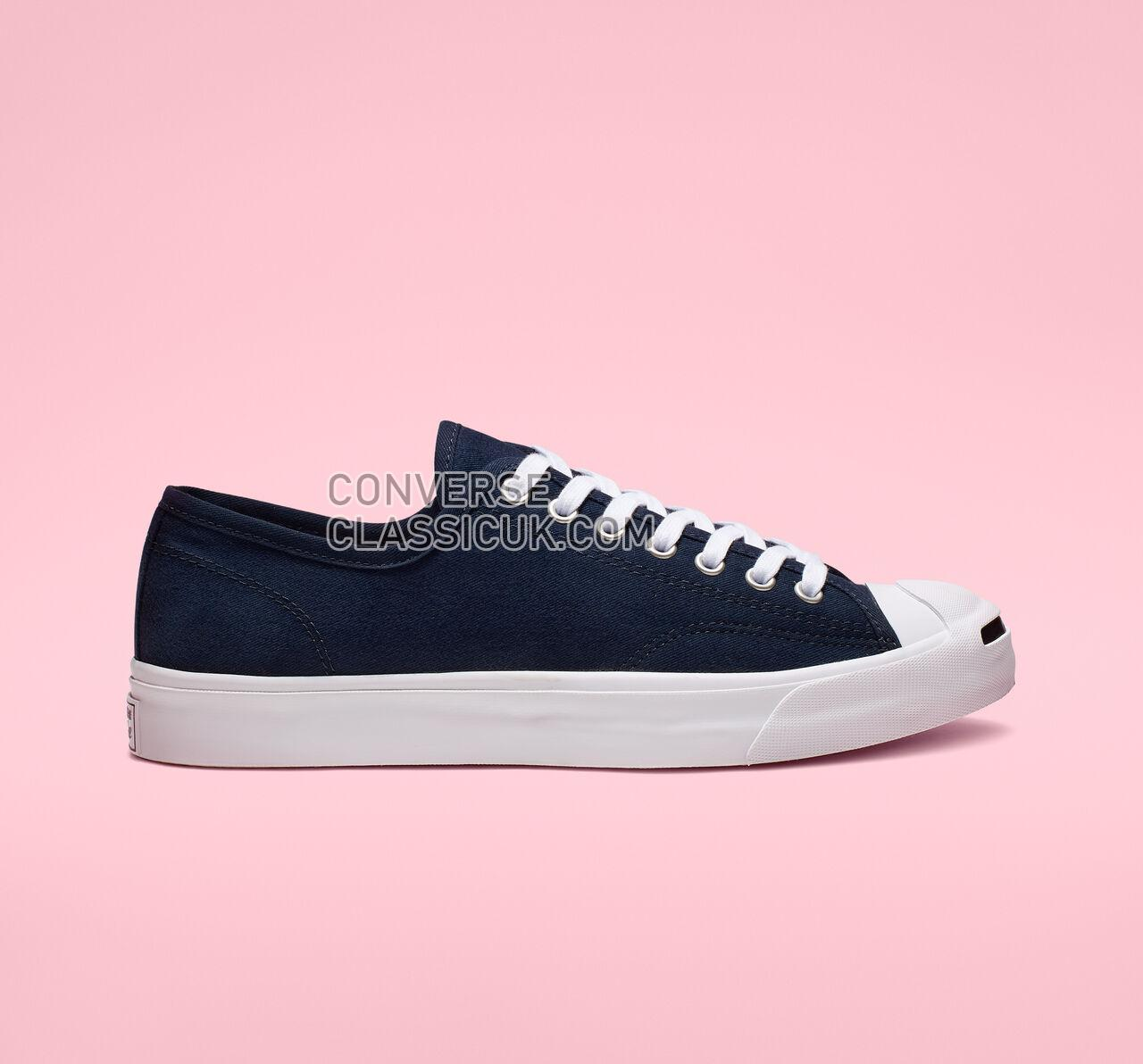 Converse Jack Purcell Low Top Mens Womens Unisex 165009C Obsidian/White/Black Shoes