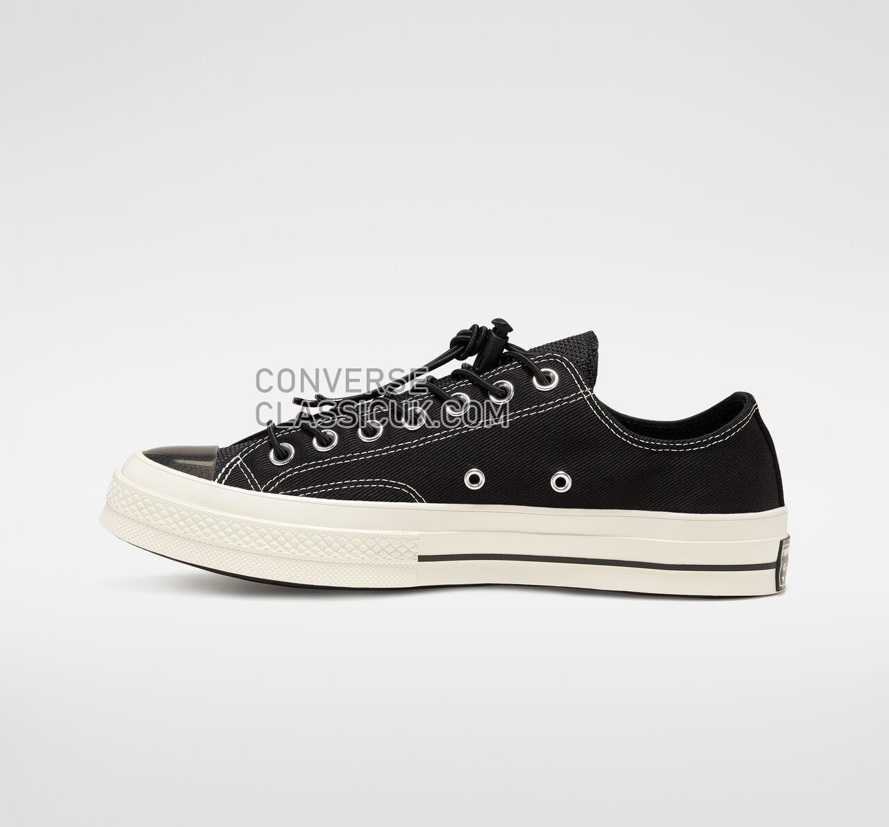 Converse Chuck 70 Space Racer Low Top Mens Womens Unisex 165471C Black/Black/Egret Shoes