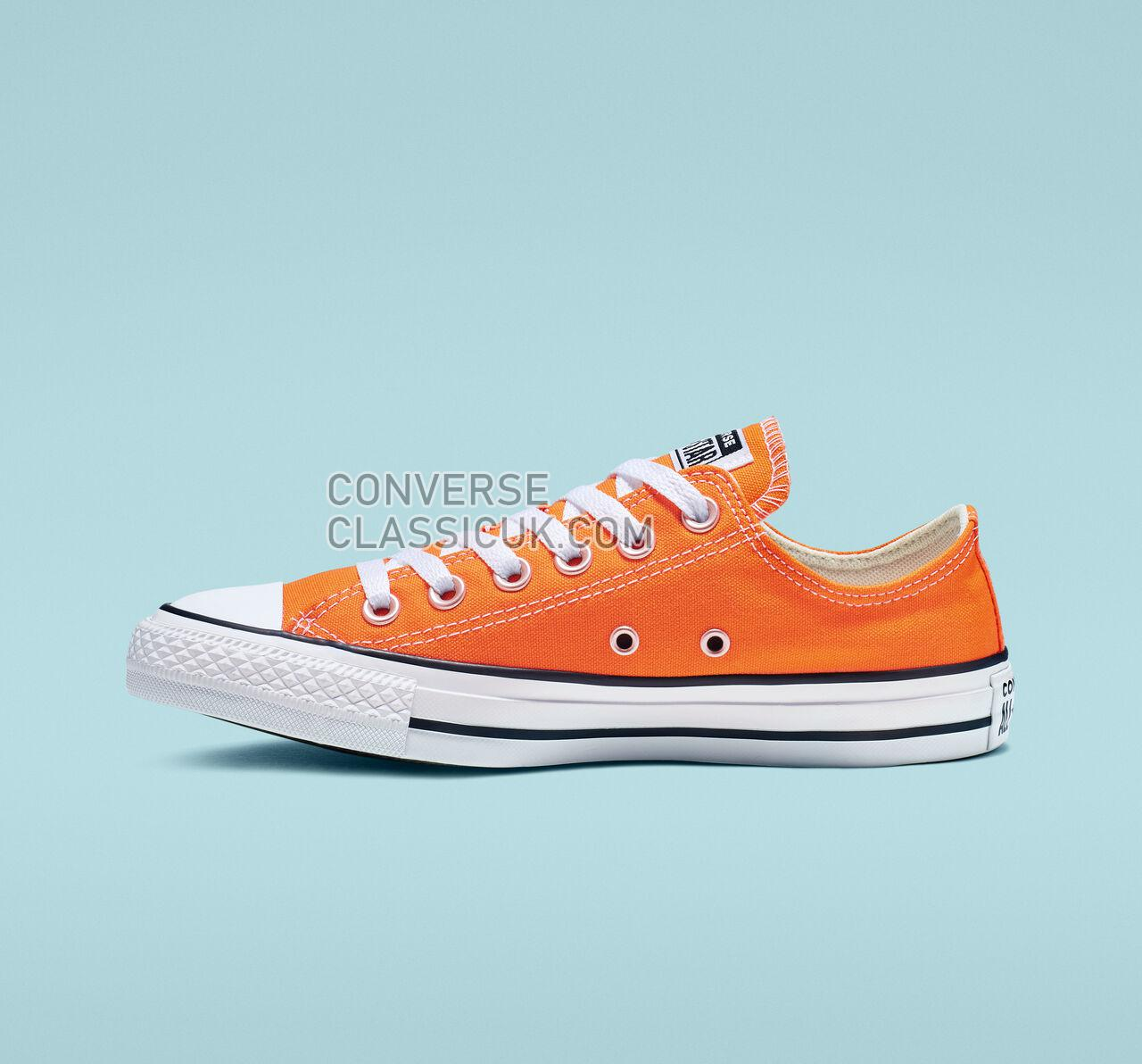 Converse Chuck Taylor All Star Seasonal Color Low Top Mens Womens Unisex 164937F Orange Rind Shoes