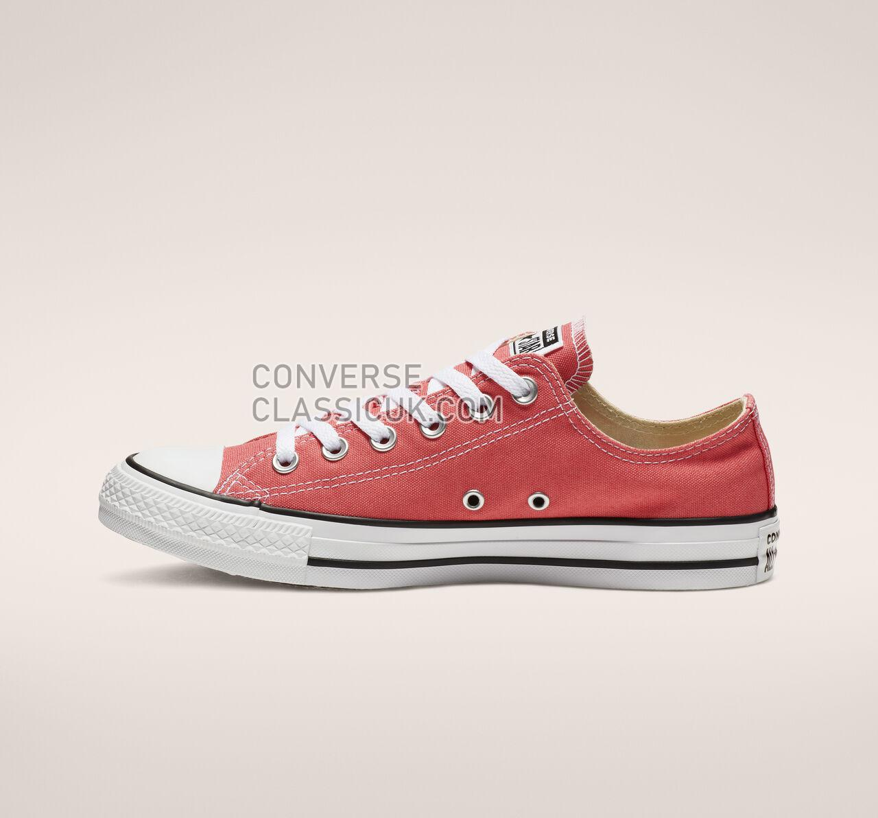 Converse Chuck Taylor All Star Seasonal Color Low Top Mens Womens Unisex 161421F Punch Coral Shoes