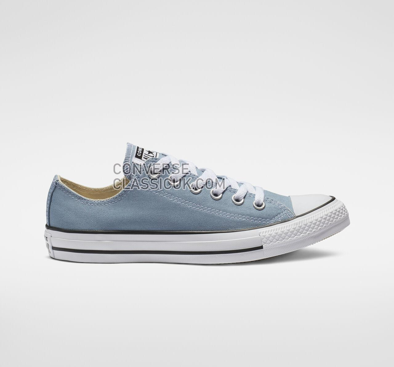 Converse Chuck Taylor All Star Seasonal Color Low Top Mens Womens Unisex 162116F Washed Denim Shoes