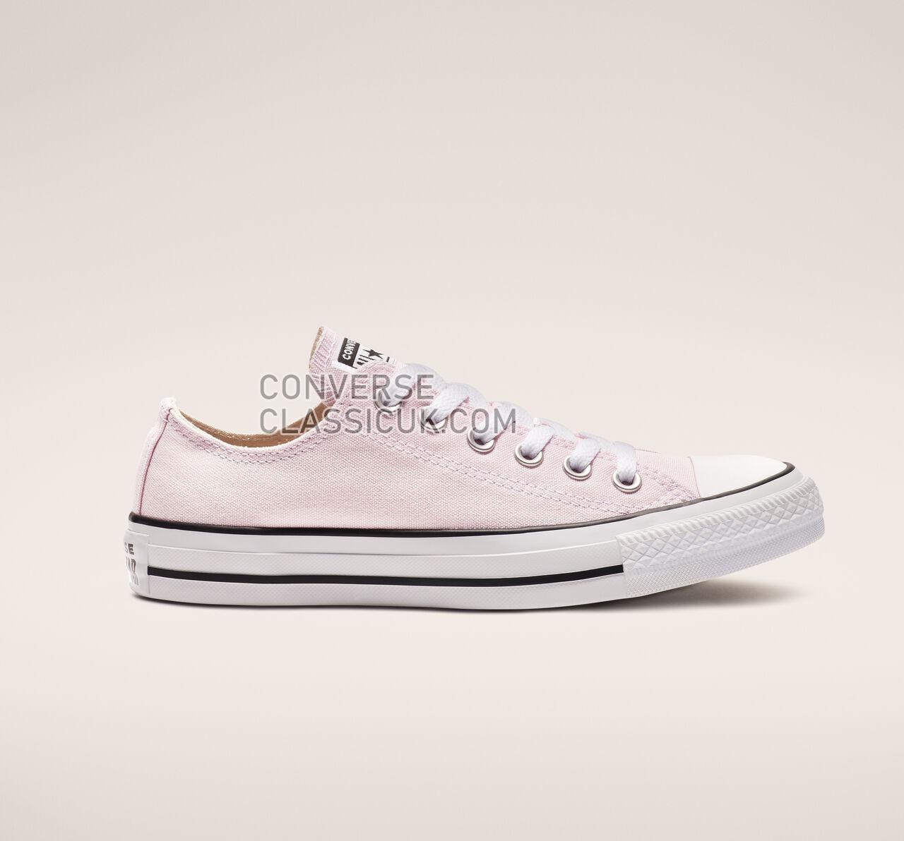 Converse Chuck Taylor All Star Seasonal Color Low Top Mens Womens Unisex 163358F Pink Foam Shoes