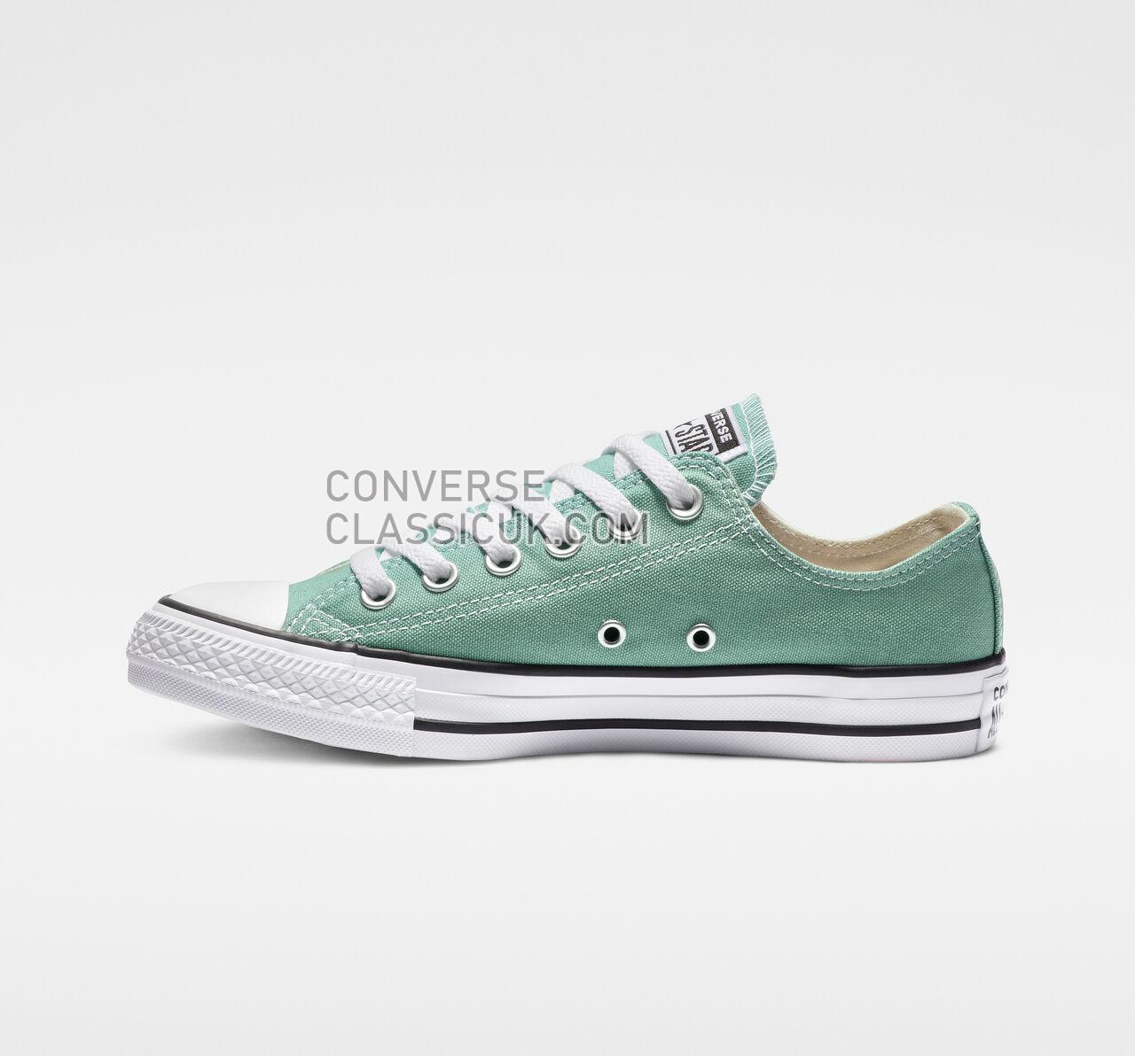 Converse Chuck Taylor All Star Seasonal Color Low Top Mens Womens Unisex 163354F Mineral Teal Shoes