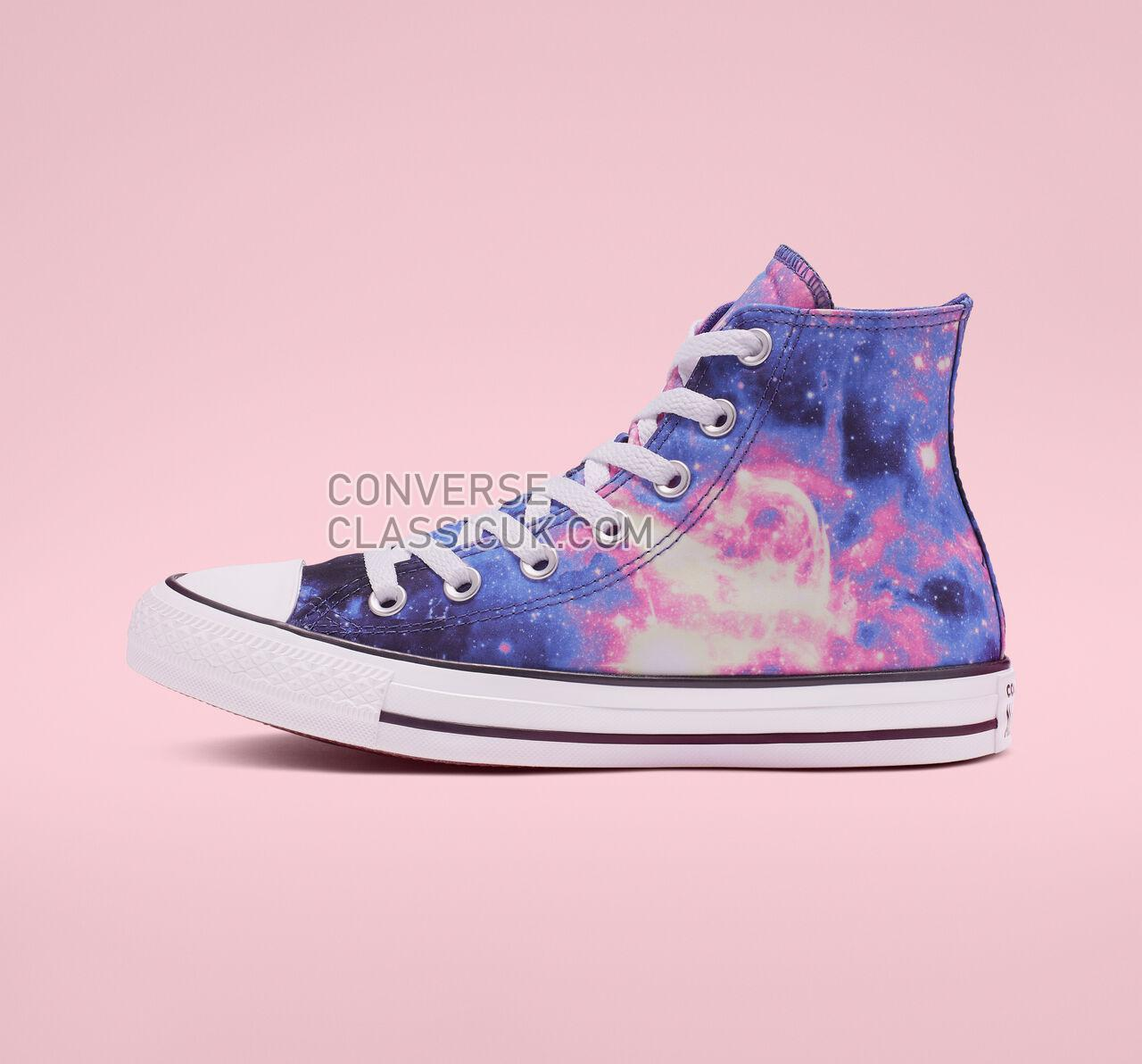 Converse Chuck Taylor All Star Miss Galaxy High Top Womens 565208F Lapis Blue/Black/Barely Rose Shoes