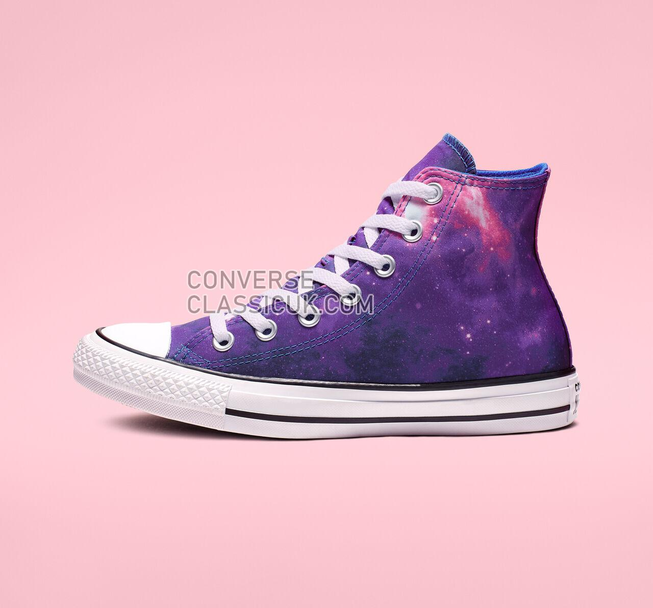 Converse Chuck Taylor All Star Miss Galaxy High Top Womens 565207F Hyper Royal/Mod Pink/White Shoes