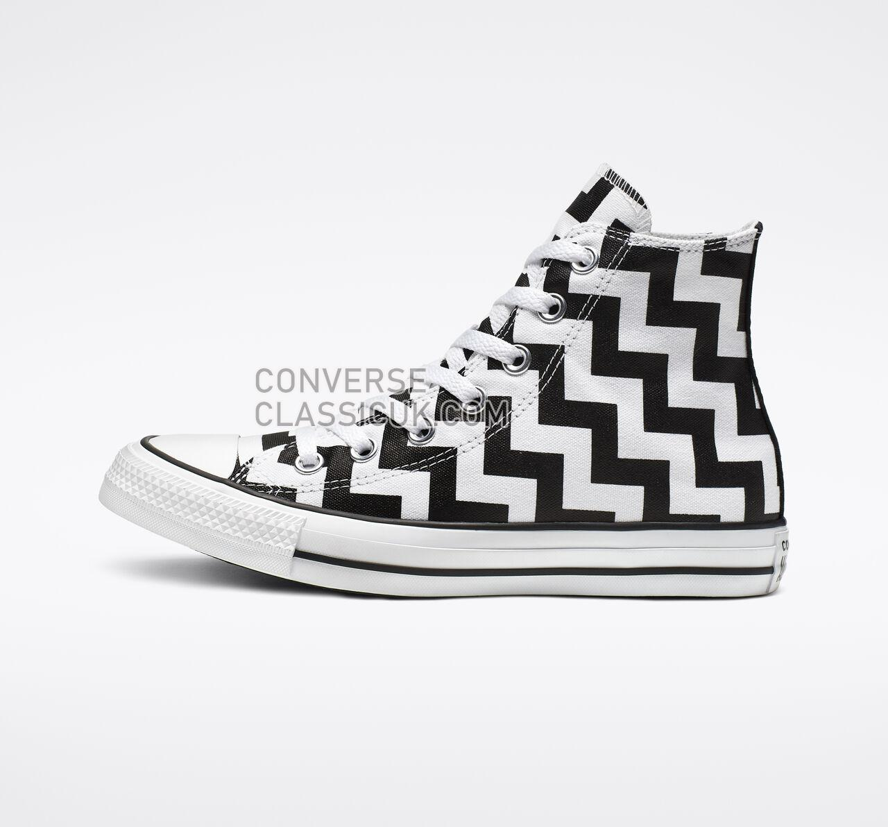 Converse Chuck Taylor All Star Glam Dunk High Top Womens 565213F White/Black/White Shoes