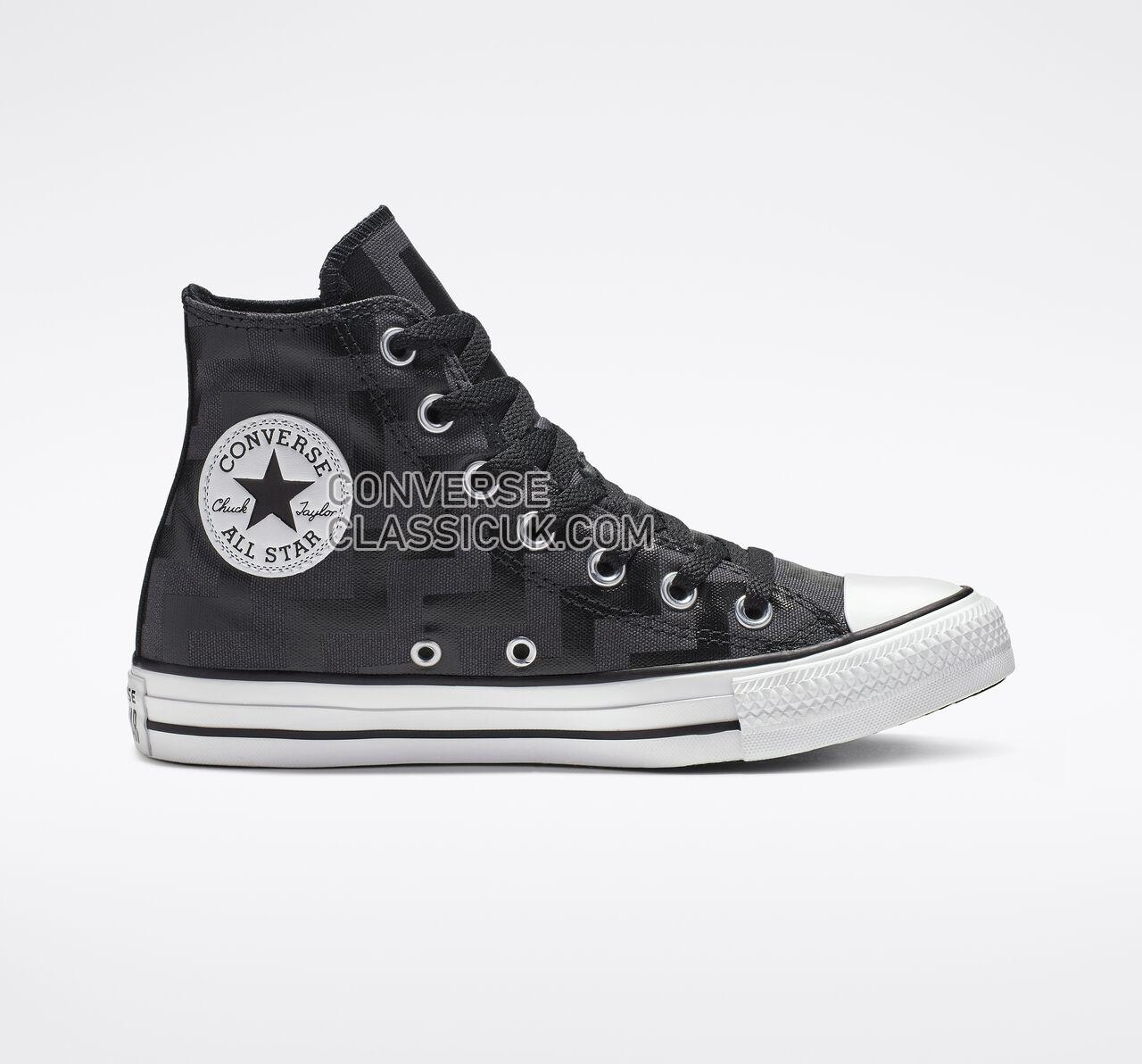 Converse Chuck Taylor All Star Glam Dunk High Top Womens 565212F Black/Almost Black/White Shoes