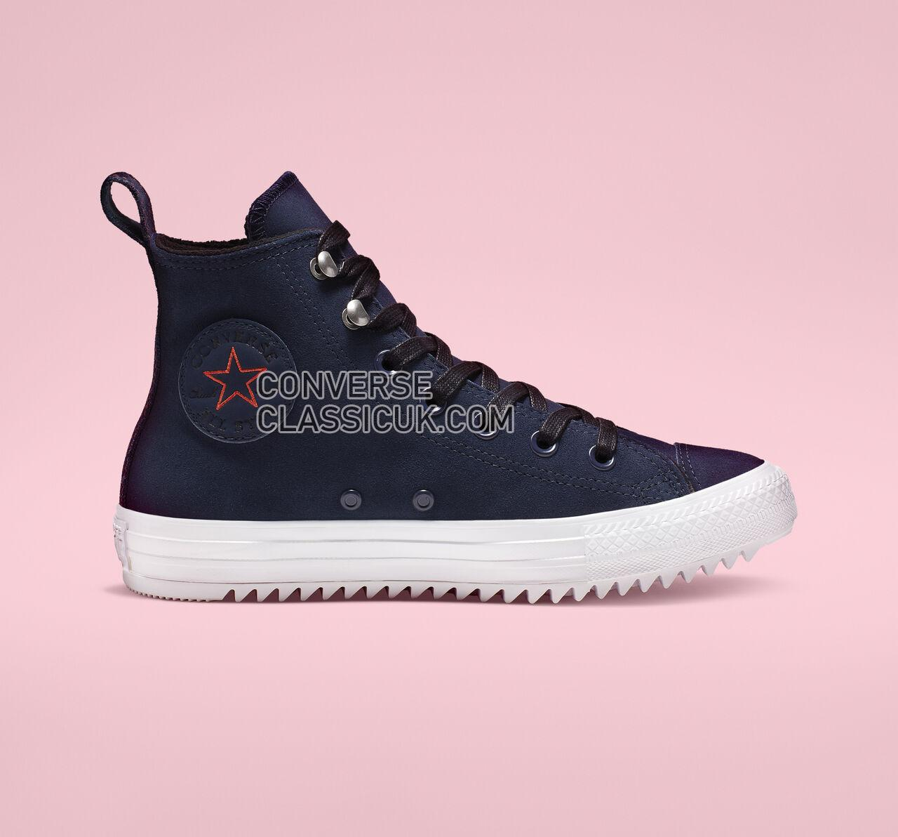 Converse Chuck Taylor All Star Hiker High Top Womens 565237C Obsidian/White/Black Shoes