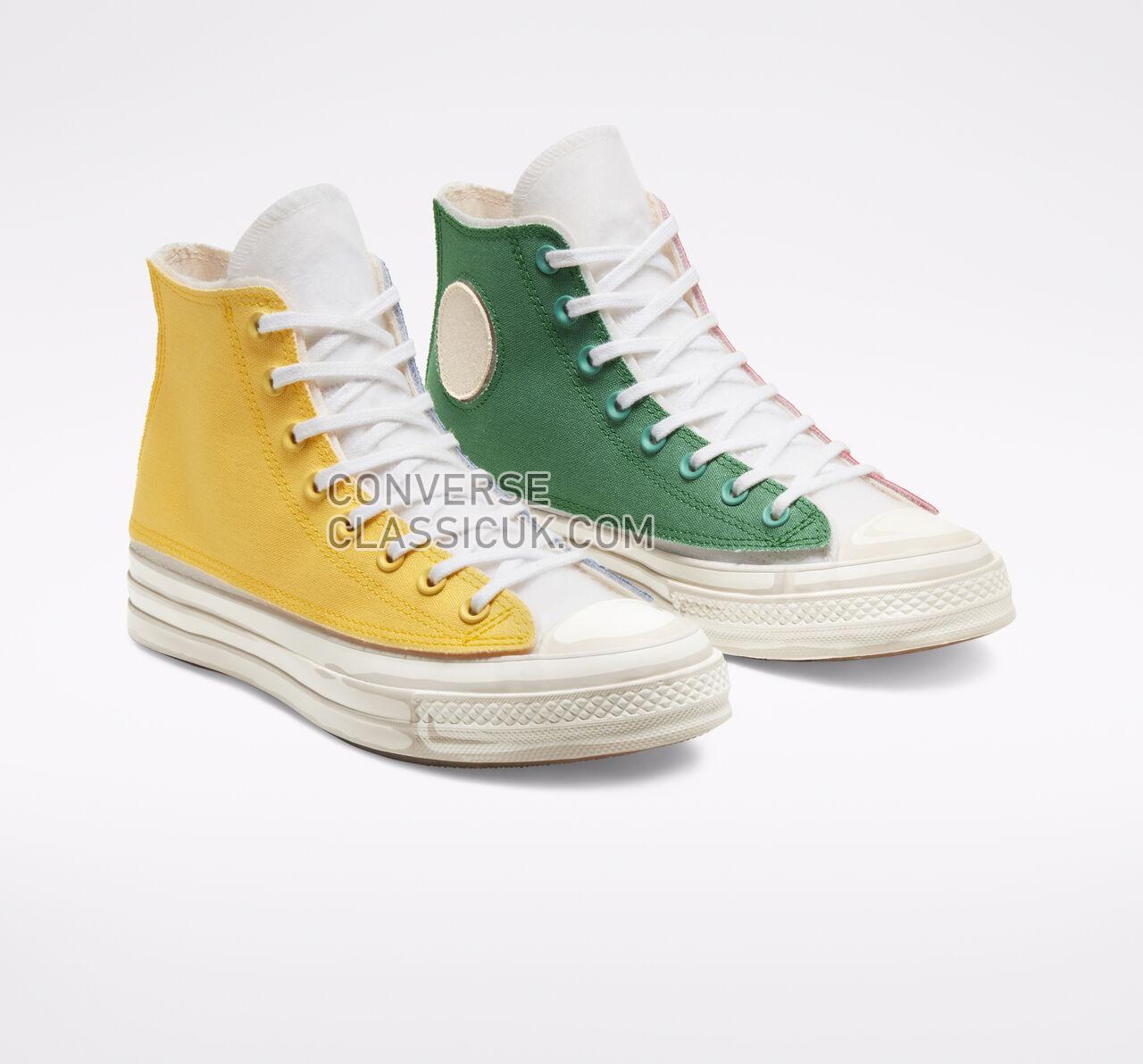 Converse x Joshua Vides Chuck 70 Mens Womens Unisex 166559C White/White/White Shoes