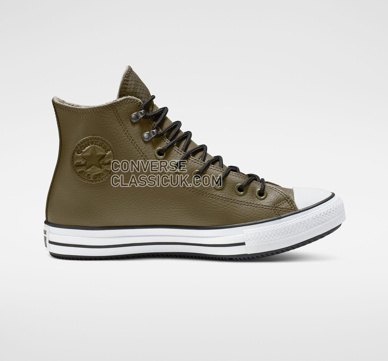 Converse Chuck Taylor All Star Winter Water-Repellent High Top Mens Womens Unisex 164925C Surplus Olive/Black/White Shoes
