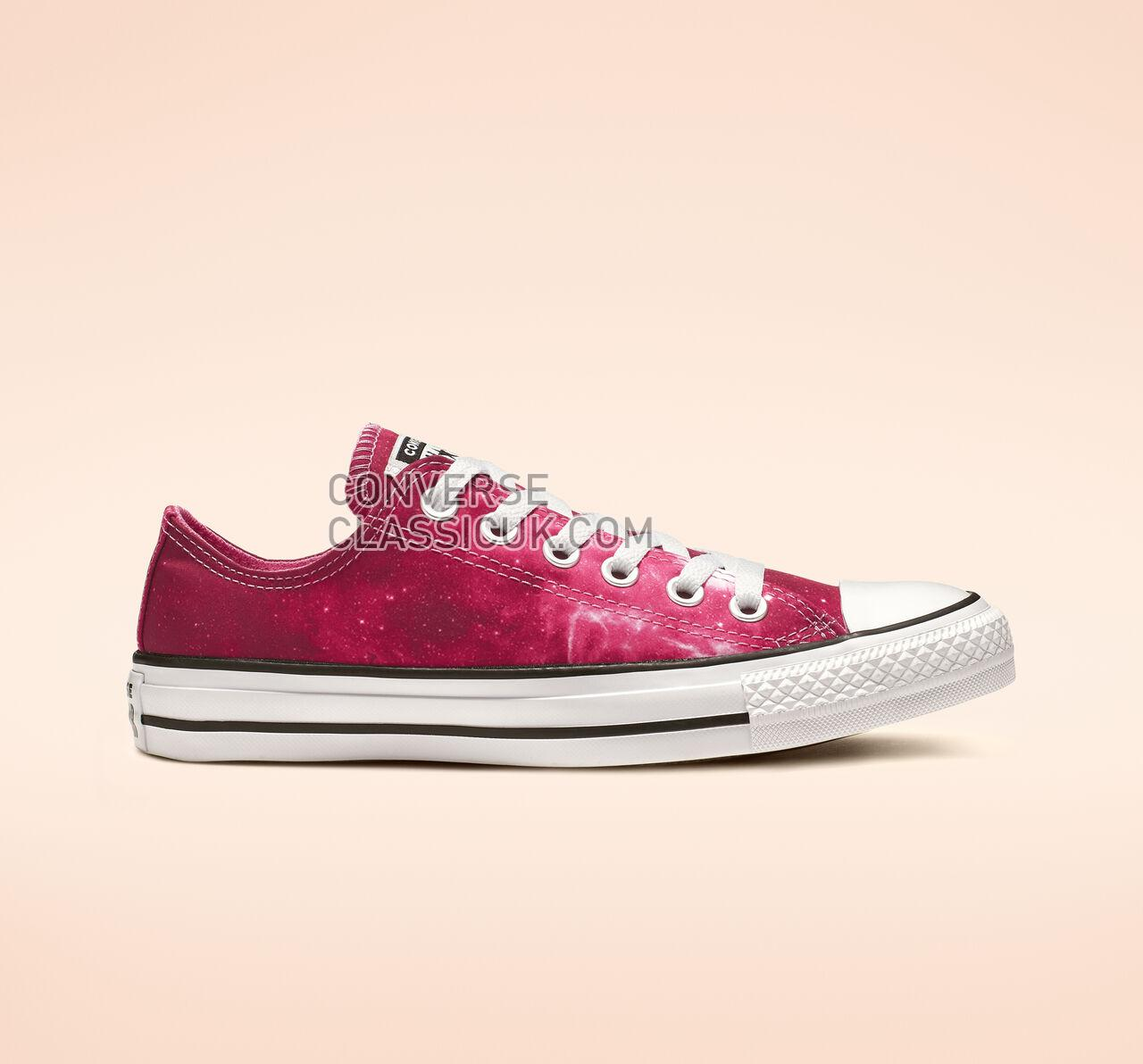 Converse Chuck Taylor All Star Miss Galaxy Low Top Womens 565210F Dark Burgundy/Mod Pink/White Shoes
