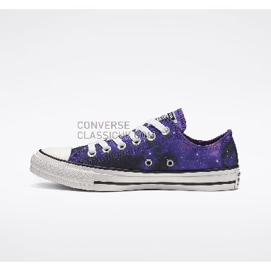 Converse Chuck Taylor All Star Miss Galaxy Low Top Womens 565209F Black/Court Purple/White Shoes
