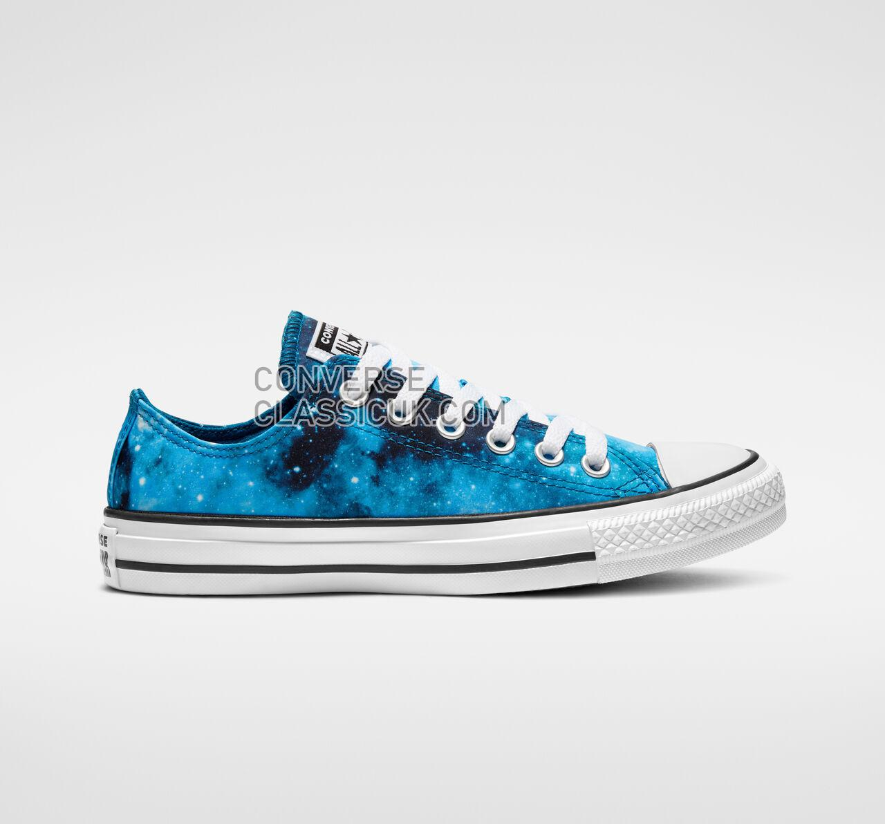 Converse Chuck Taylor All Star Miss Galaxy Low Top Womens 565211F Green Abyss/Turbo Green/White Shoes