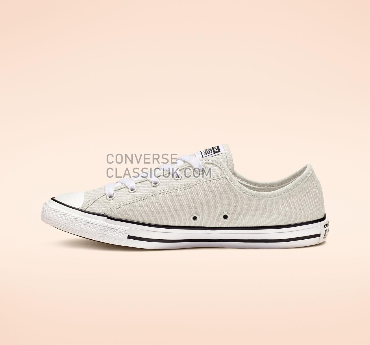 Converse Chuck Taylor All Star Dainty Low Top Womens 564983F Mouse/White/Black Shoes