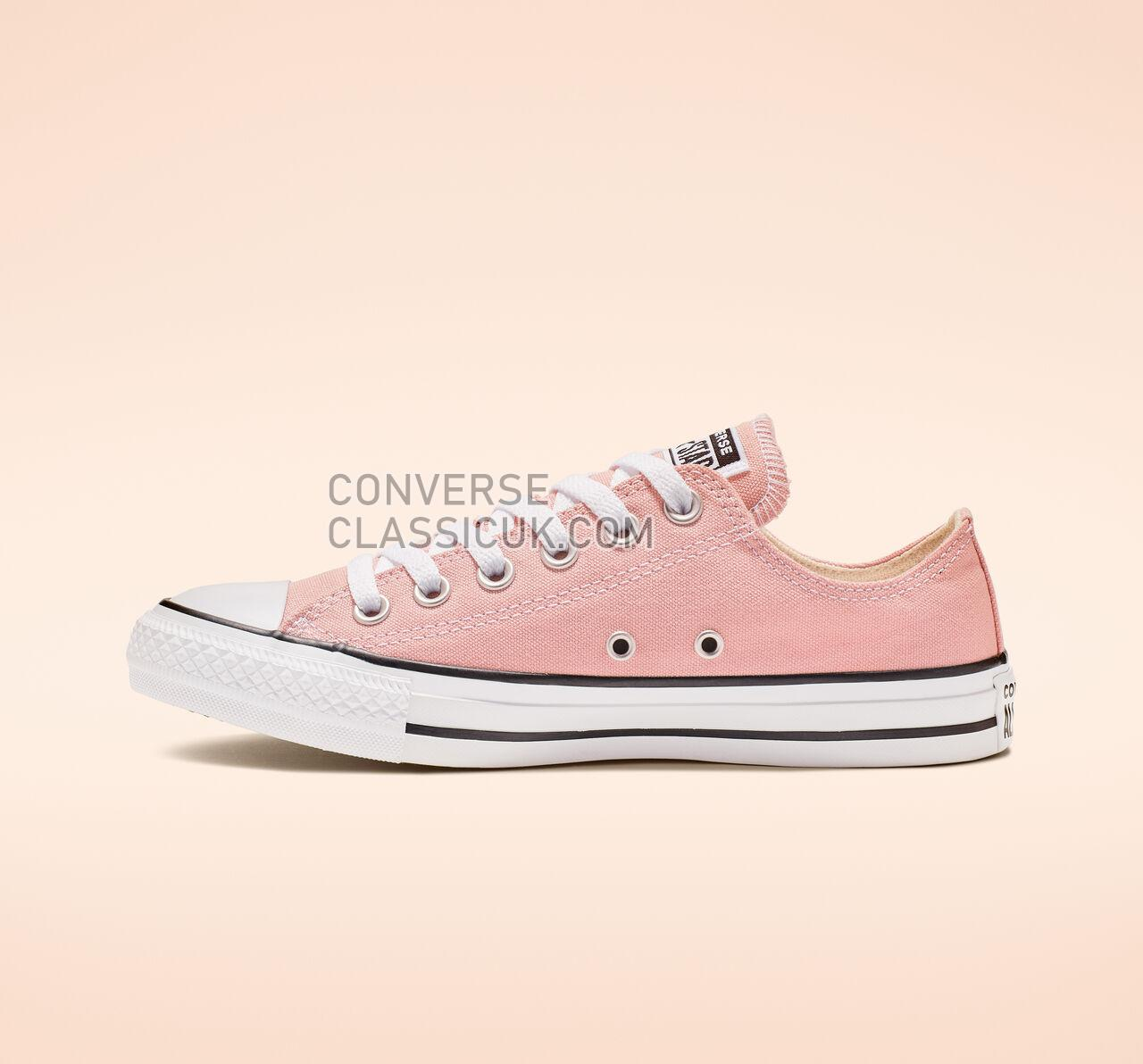 Converse Chuck Taylor All Star Seasonal Color Low Top Mens Womens Unisex 164936F Coastal Pink Shoes