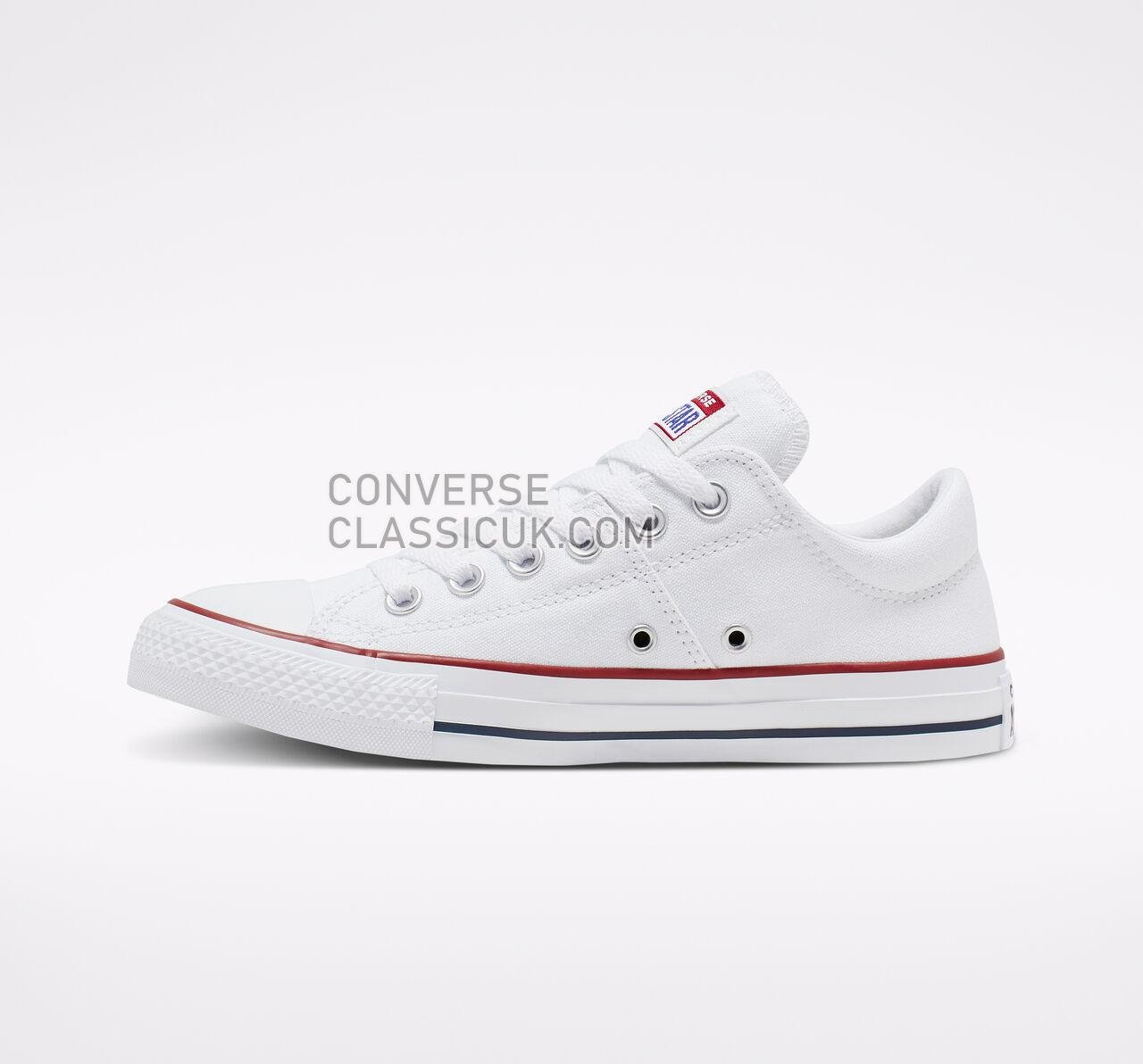 Converse Chuck Taylor All Star Madison Low Top Womens 563509F White/White/White Shoes