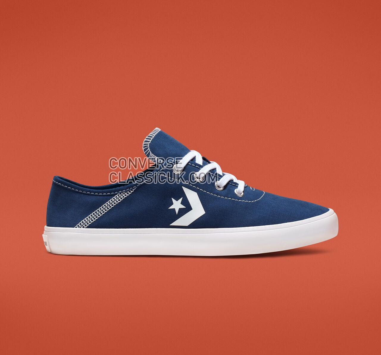 Converse Costa Collapsible Heel Low Top Womens 563436F Navy/White/White Shoes