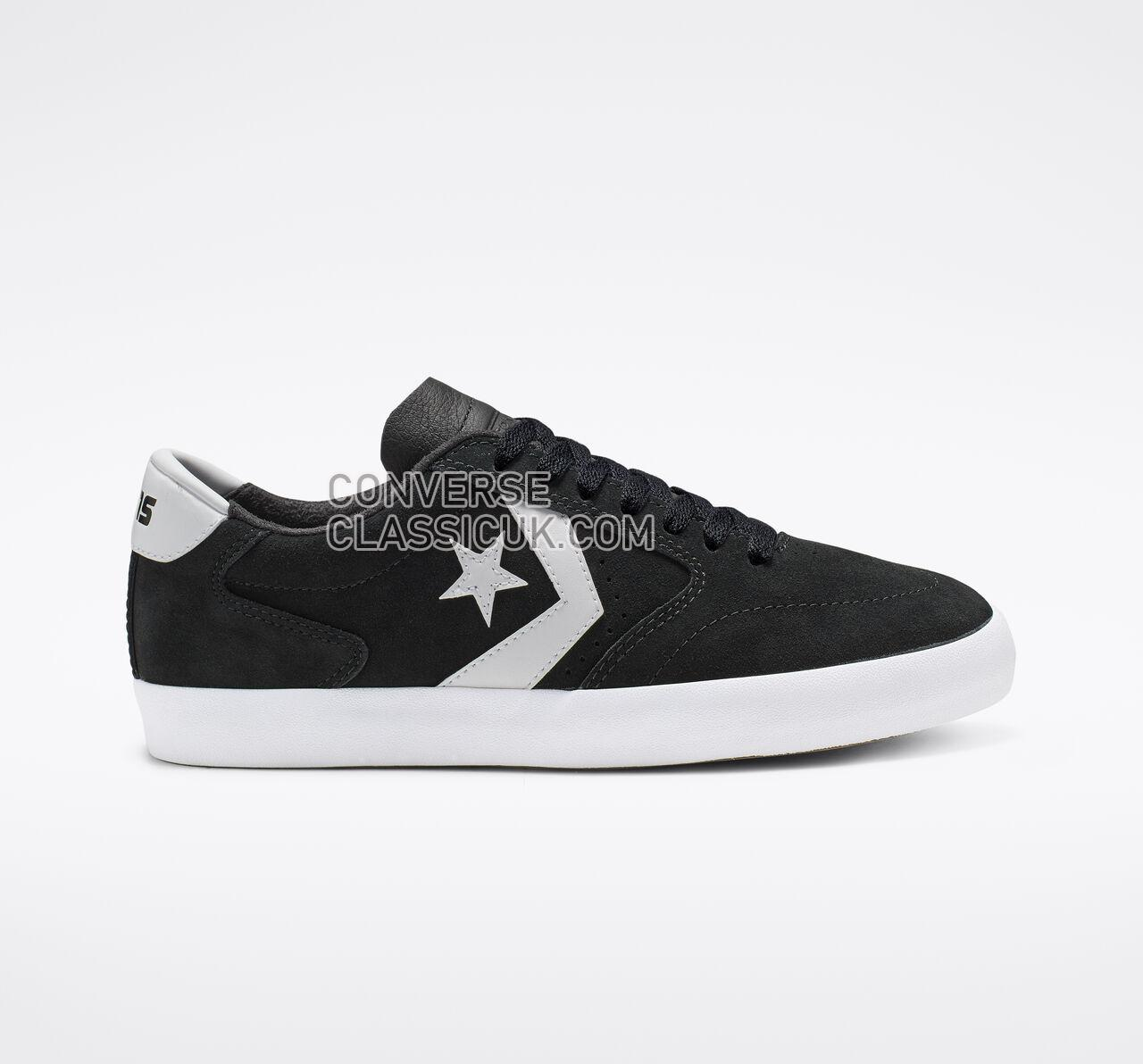 Converse Checkpoint Pro Low Top Mens Womens Unisex 165265C Black/White/White Shoes
