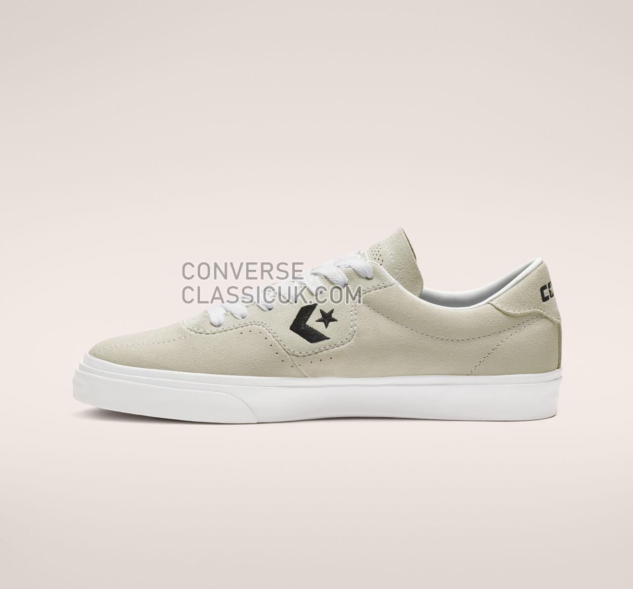 Converse Louie Lopez Pro Low Top Mens Womens Unisex 163262C White/White/Black Shoes