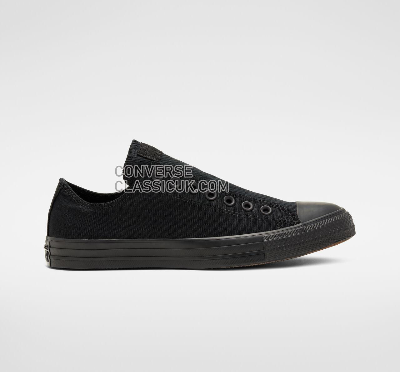 Converse Chuck Taylor All Star Slip Mens Womens Unisex 166396F Black/Black/Black Shoes
