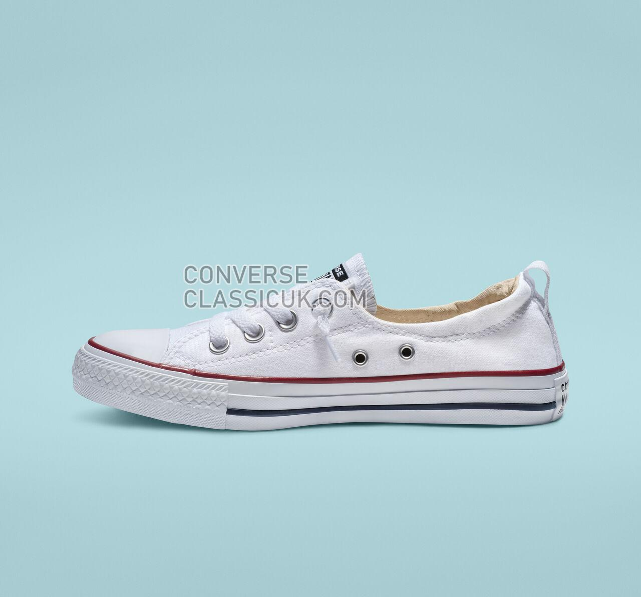 Converse Chuck Taylor All Star Shoreline Slip Womens 537084F White Shoes