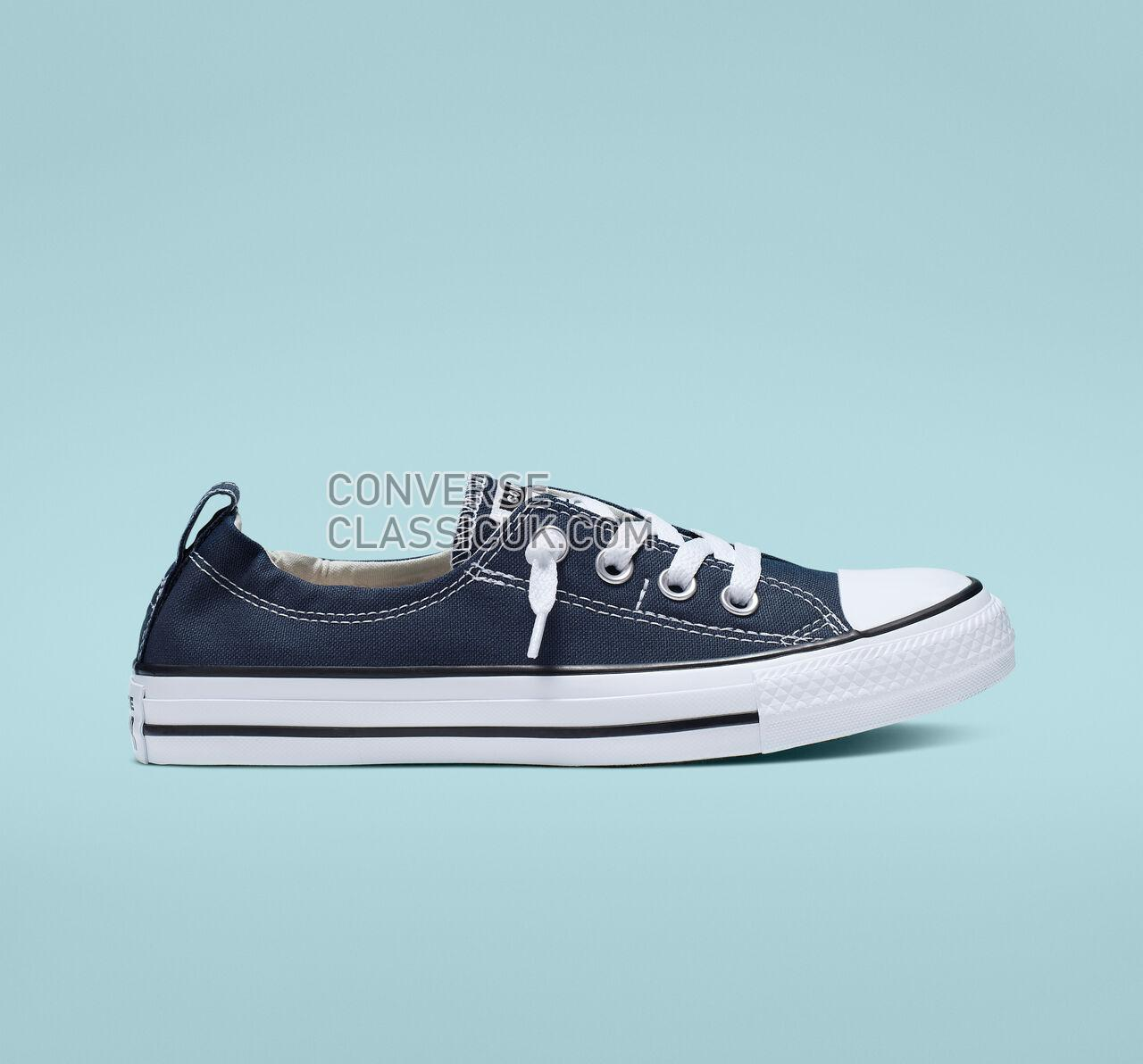 Converse Chuck Taylor All Star Shoreline Slip Womens 537080F Athletic Navy Shoes
