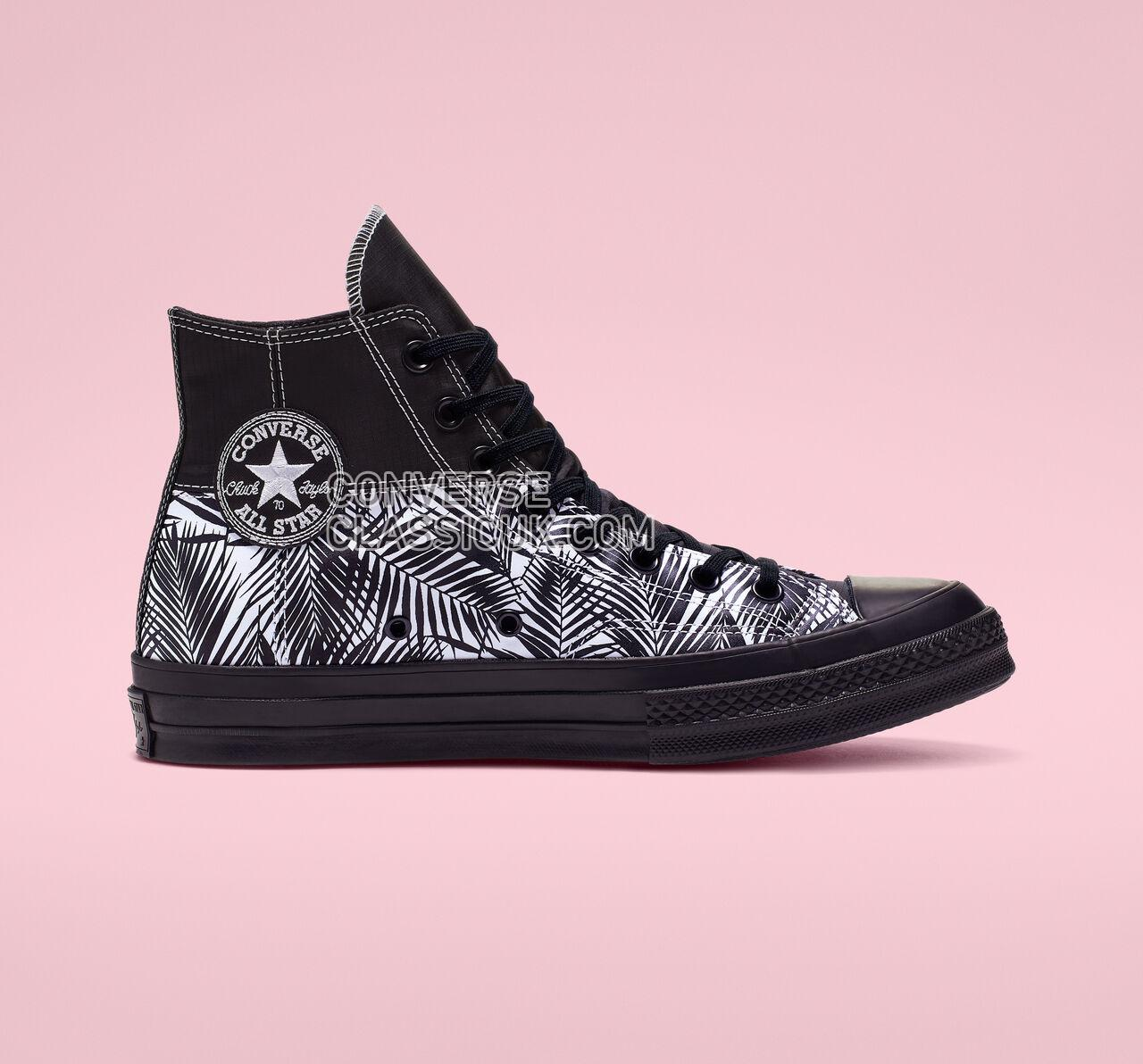 Converse Chuck 70 Get Tubed High Top Mens Womens Unisex 164086C Black/White/Black Shoes