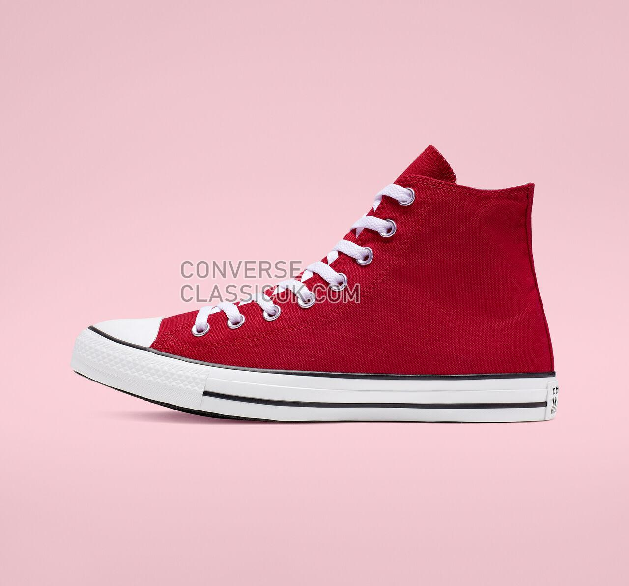 Converse Chuck Taylor All Star Oversized Logo High Top Mens Womens Unisex 165695C Enamel Red/White/Black Shoes