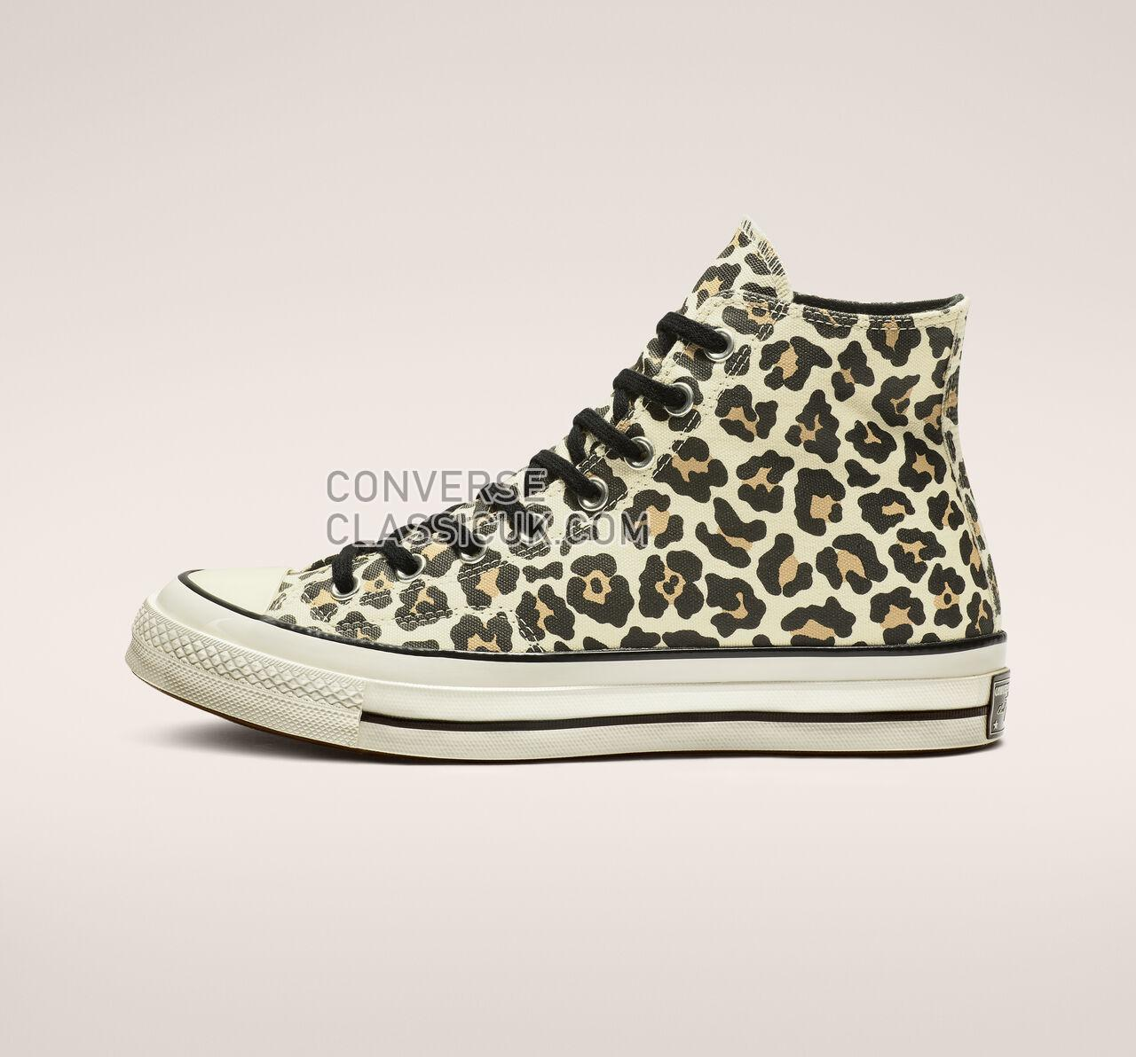 Converse Chuck 70 Archive Print High Top Mens Womens Unisex 163406C Driftwood Mult/Light Fawn Shoes