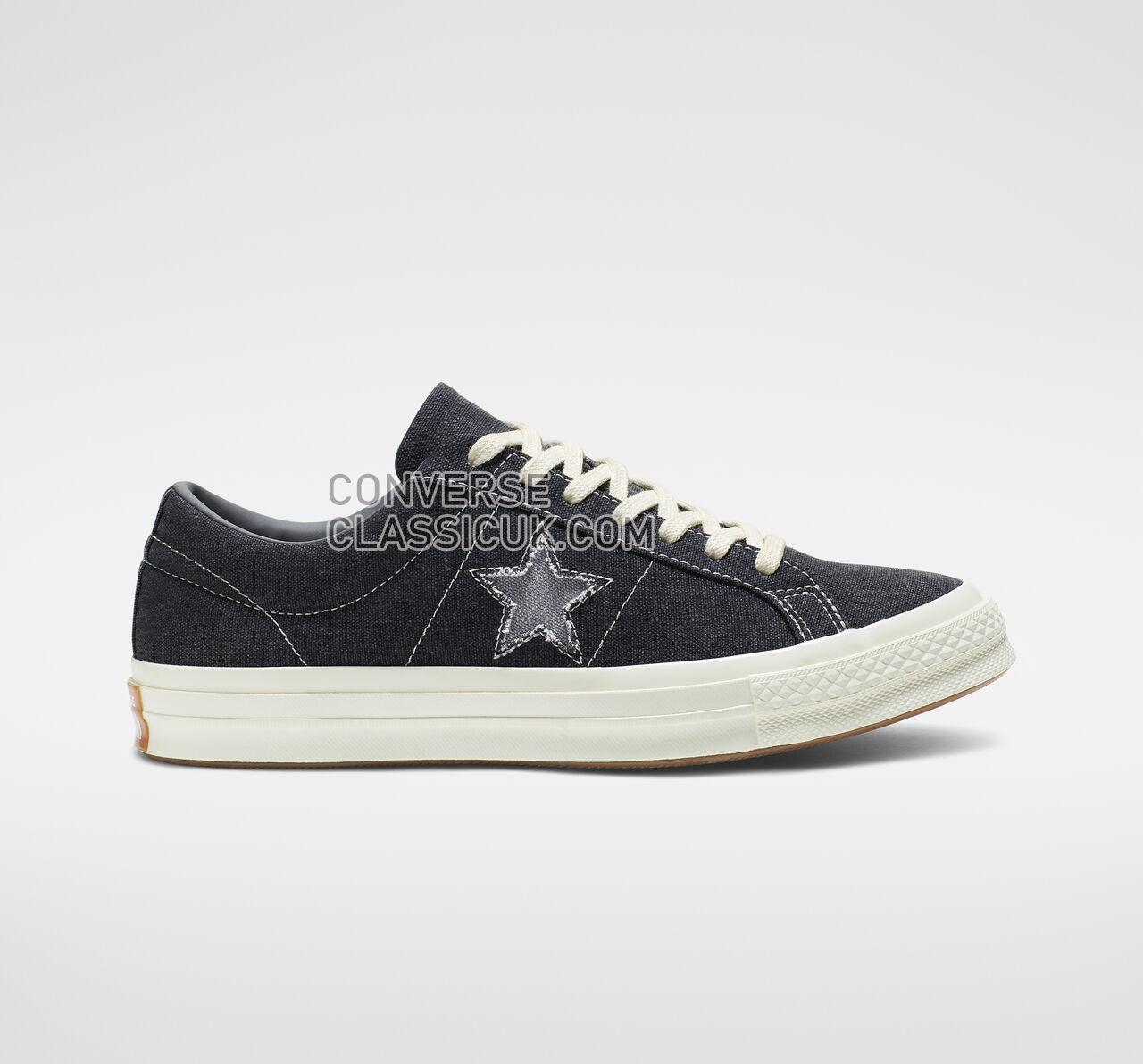 Converse One Star Sunbaked Mens Womens Unisex 164360C Black/Mason/Egret Shoes