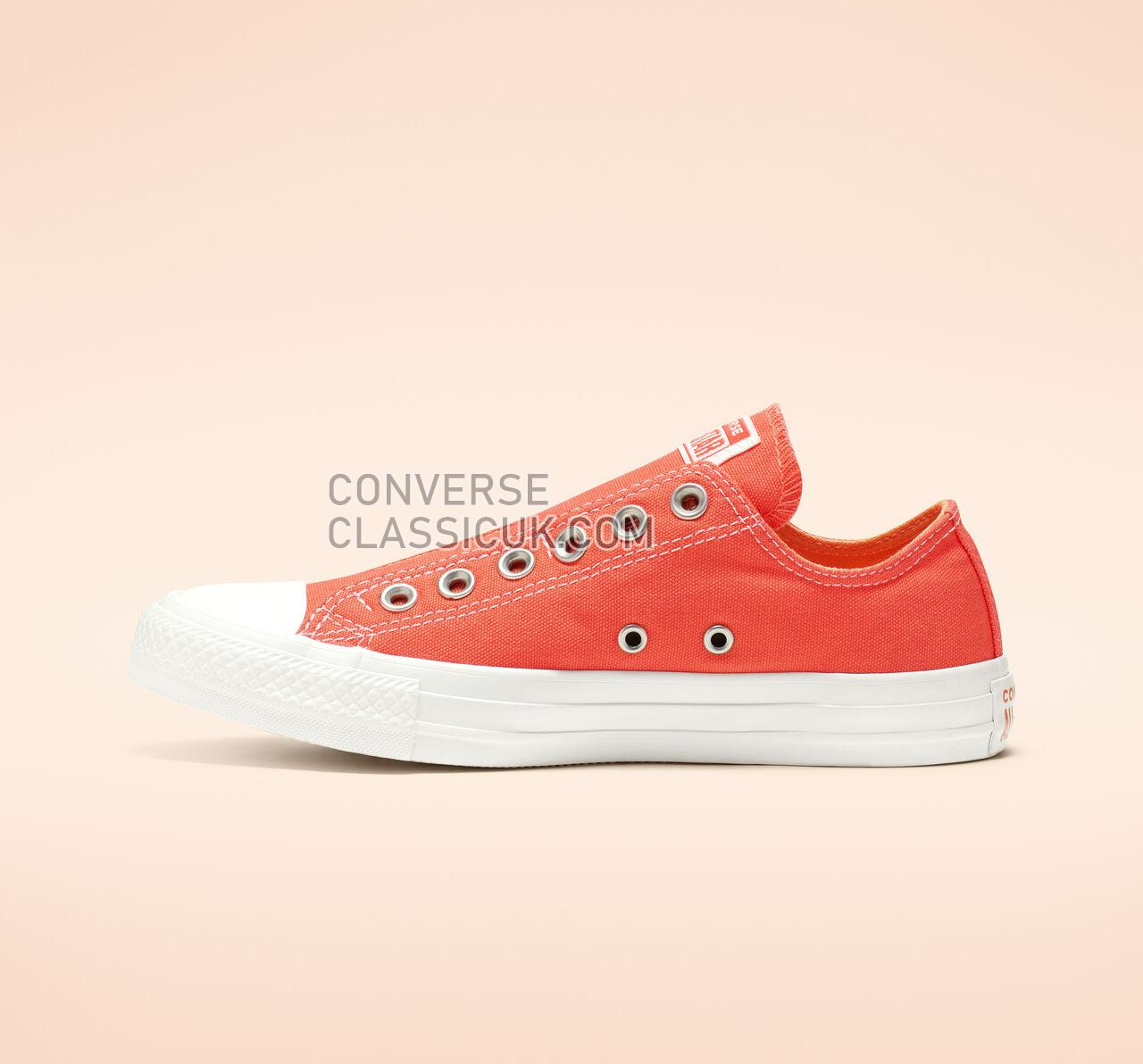 Converse Chuck Taylor All Star Slip Mens Womens Unisex 164303C Turf Orange/Melon Baller/White Shoes