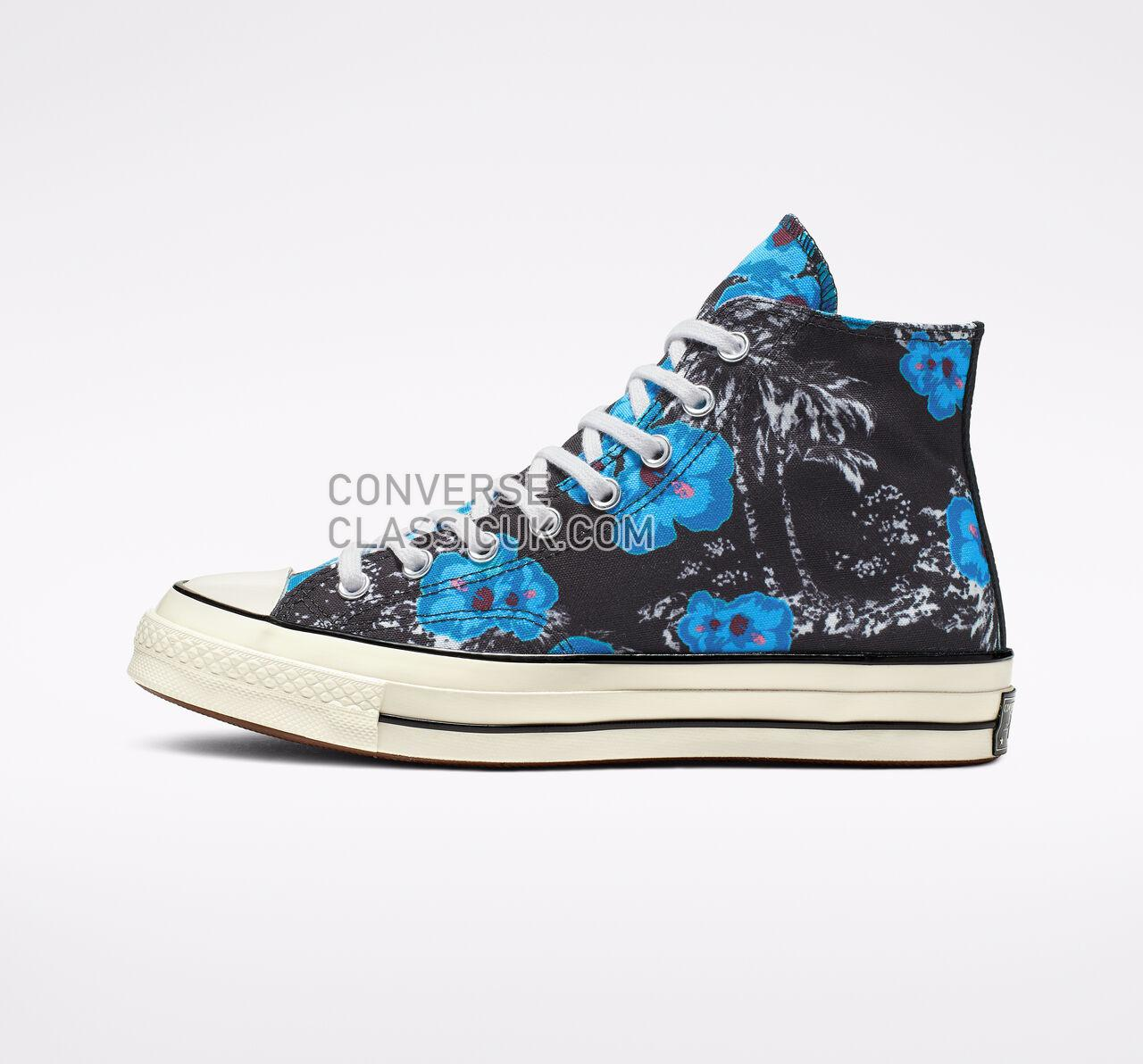 Converse Chuck 70 Paradise Floral High Top Mens Womens Unisex 164077C Black/Gnarly Blue/Racer Pink Shoes