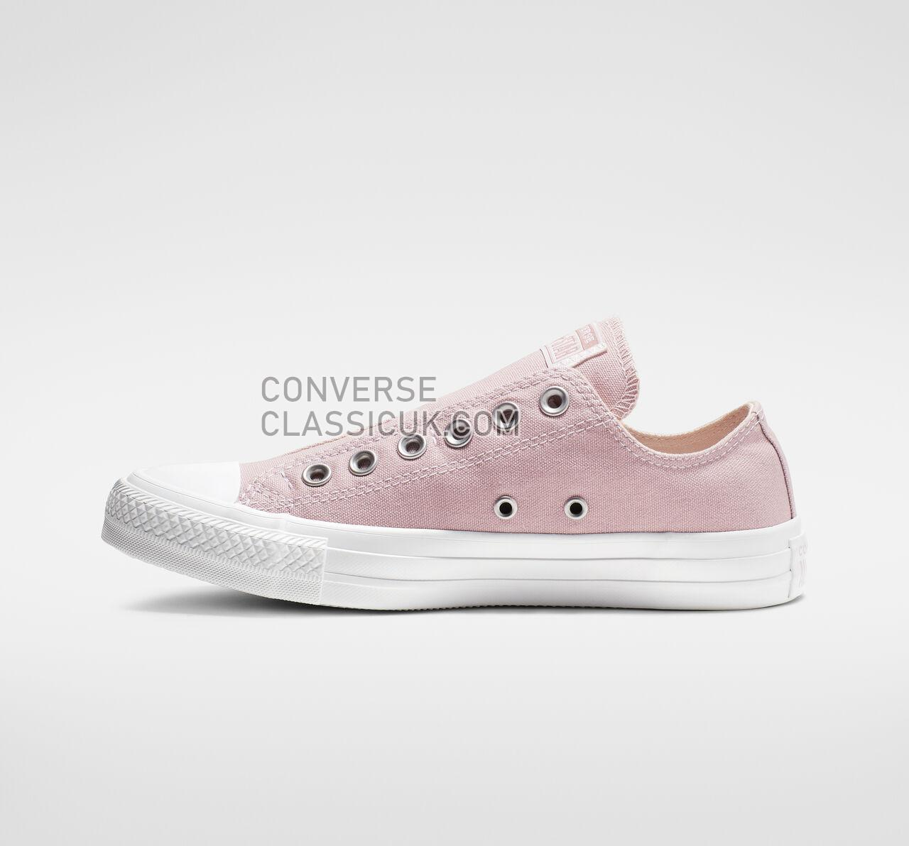 Converse Chuck Taylor All Star Slip Mens Womens Unisex 164304C Plum Chalk/Washed Coral/White Shoes