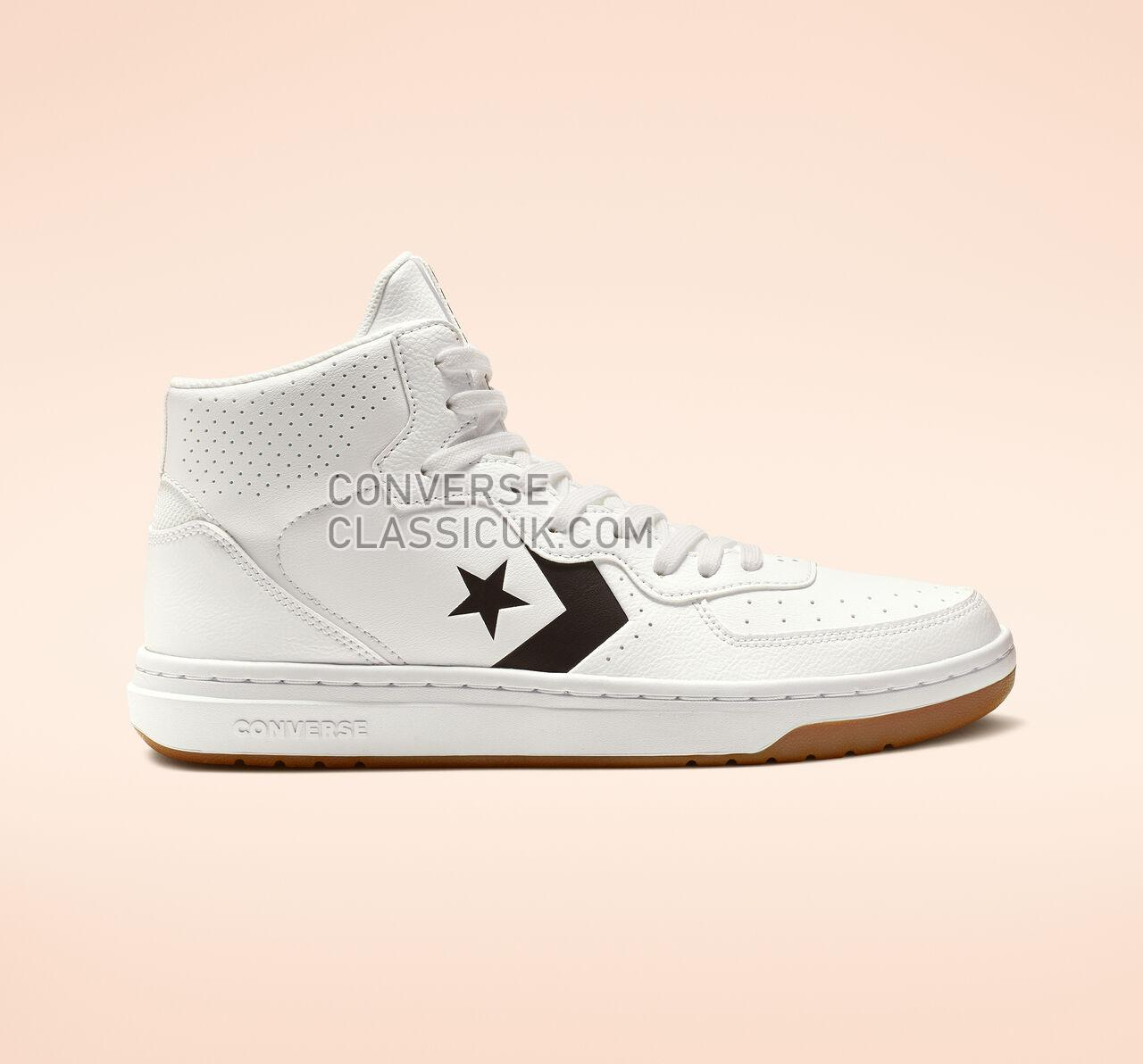 Converse Rival Mid Mens Womens Unisex 164890C White/Black/White Shoes
