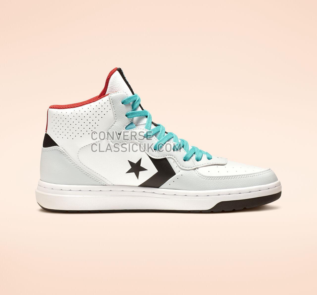 Converse Rival Mid Mens Womens Unisex 164892C White/Black/Pure Platinum Shoes