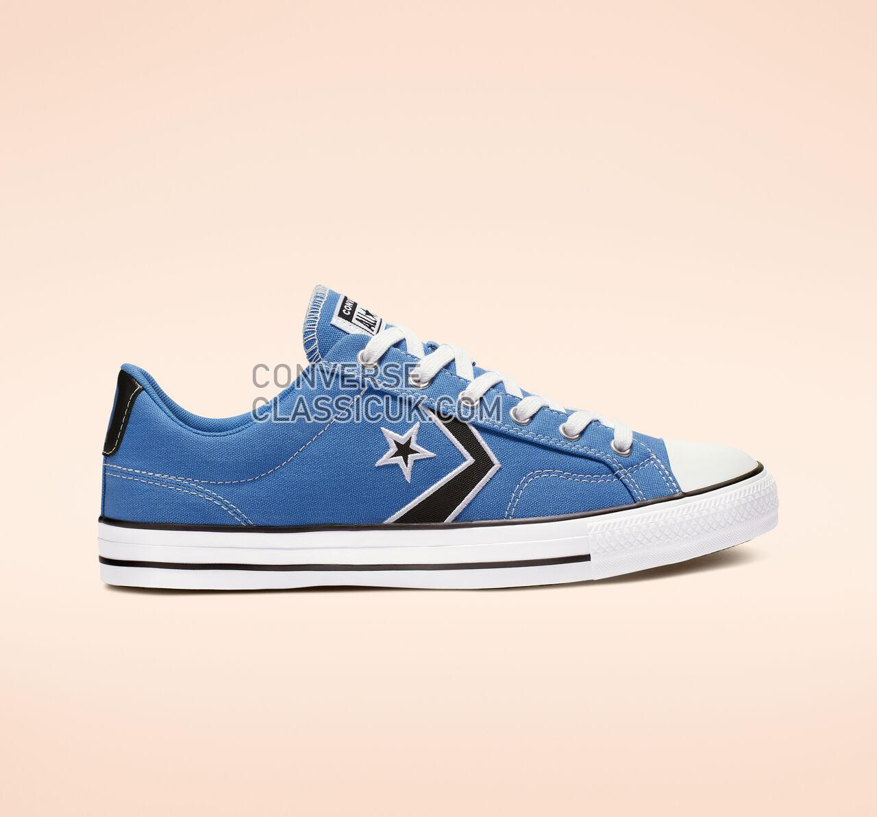 Converse Star Player Summer Sport Low Top Mens Womens Unisex 164401C Totally Blue/Black/White Shoes