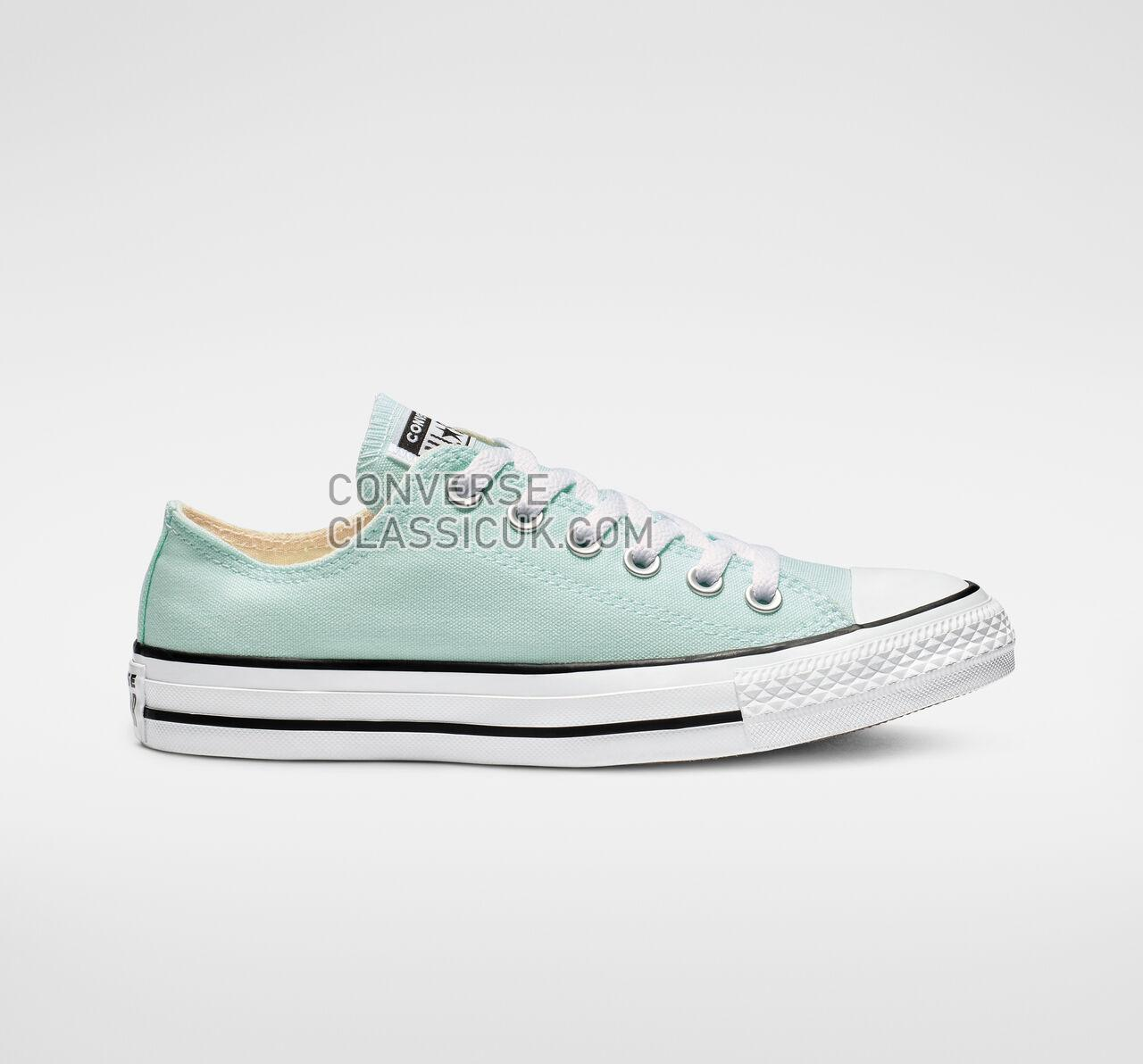 Converse Chuck Taylor All Star Seasonal Color Low Top Mens Womens Unisex 163357F Teal Tint Shoes