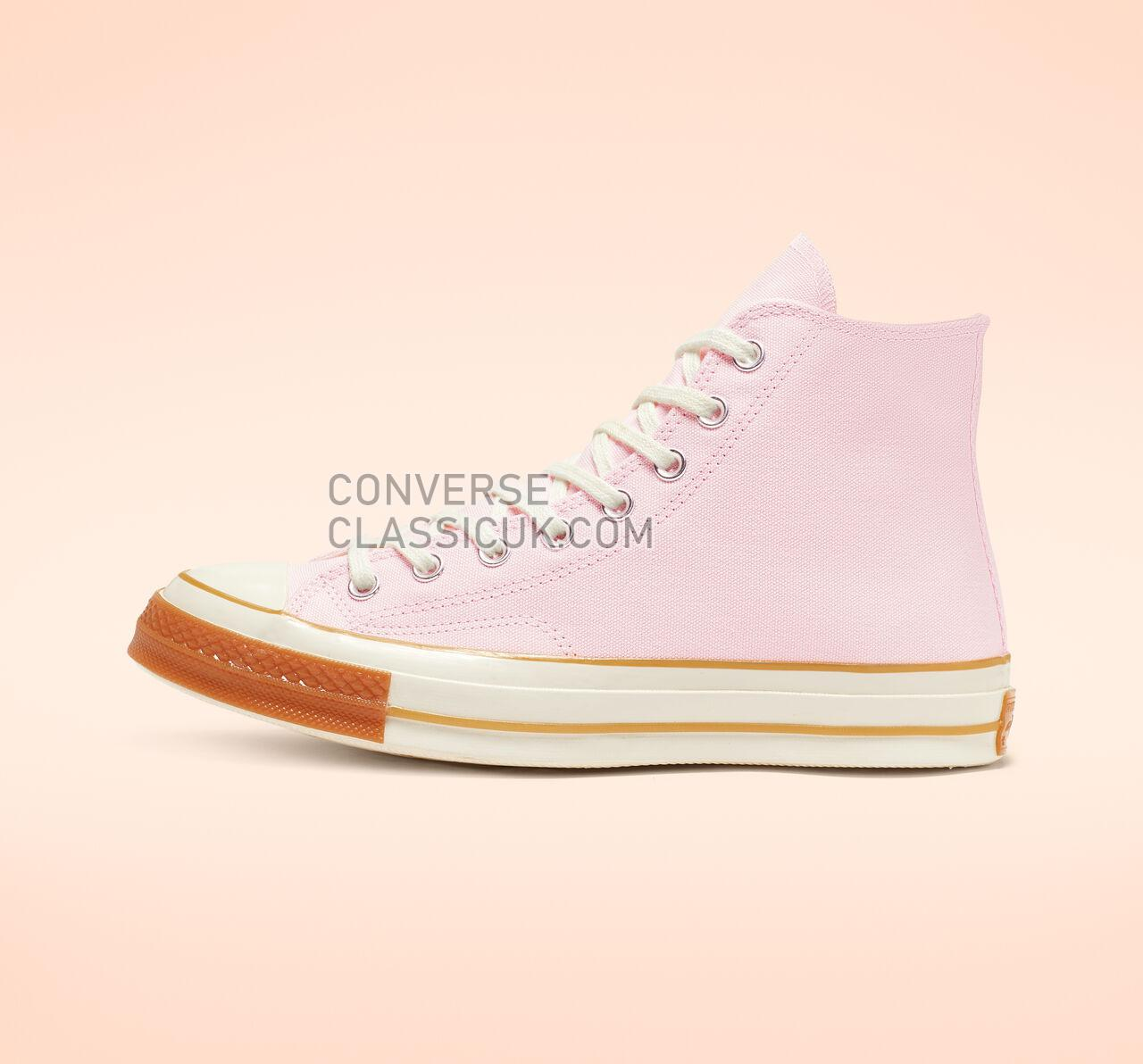 Converse Chuck 70 Pop Toe High Top Mens Womens Unisex 165719C Pink Foam/Egret/Gum Shoes