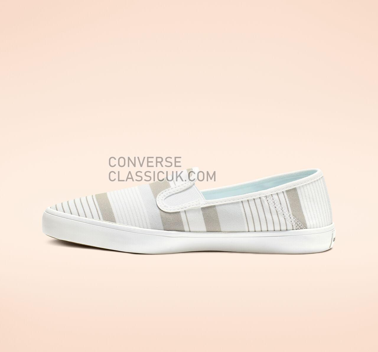 Converse Rio Summer Crush Slip Womens 564329F White/Papyrus/White Shoes