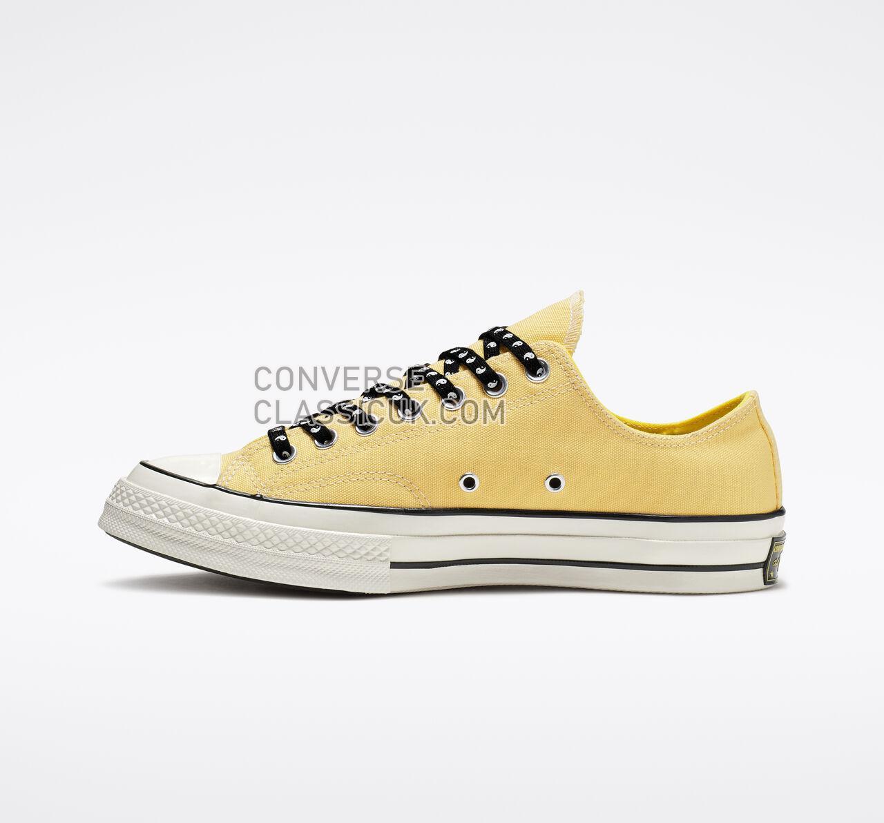 Converse Chuck 70 Psy-Kicks Low Top Mens Womens Unisex 164214C Butter Yellow/Fresh Yellow Shoes