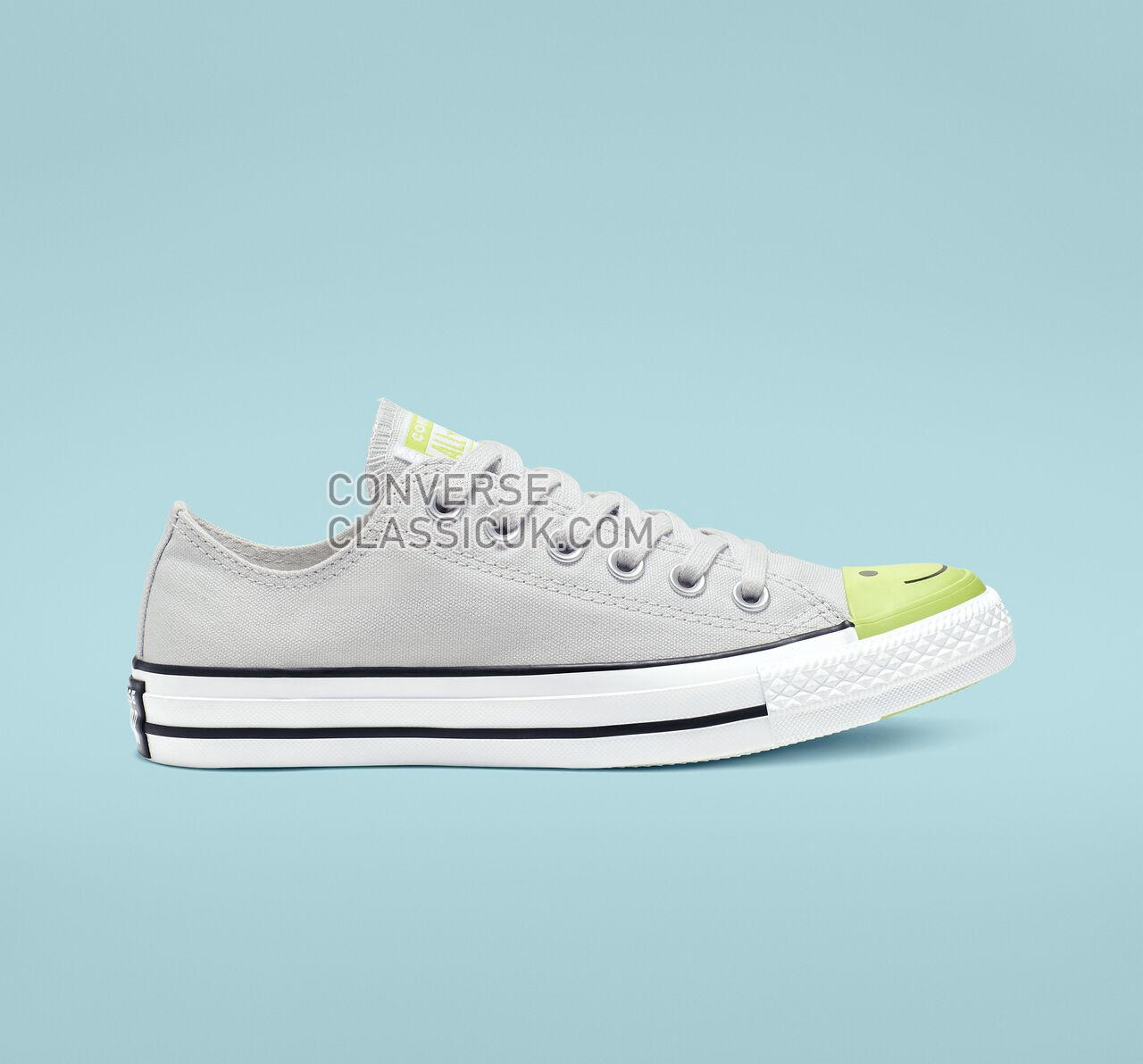 Converse Chuck Taylor All Star Carnival Colorblock Low Top Mens Womens Unisex 164424C Mouse/Bold Lime/White Shoes